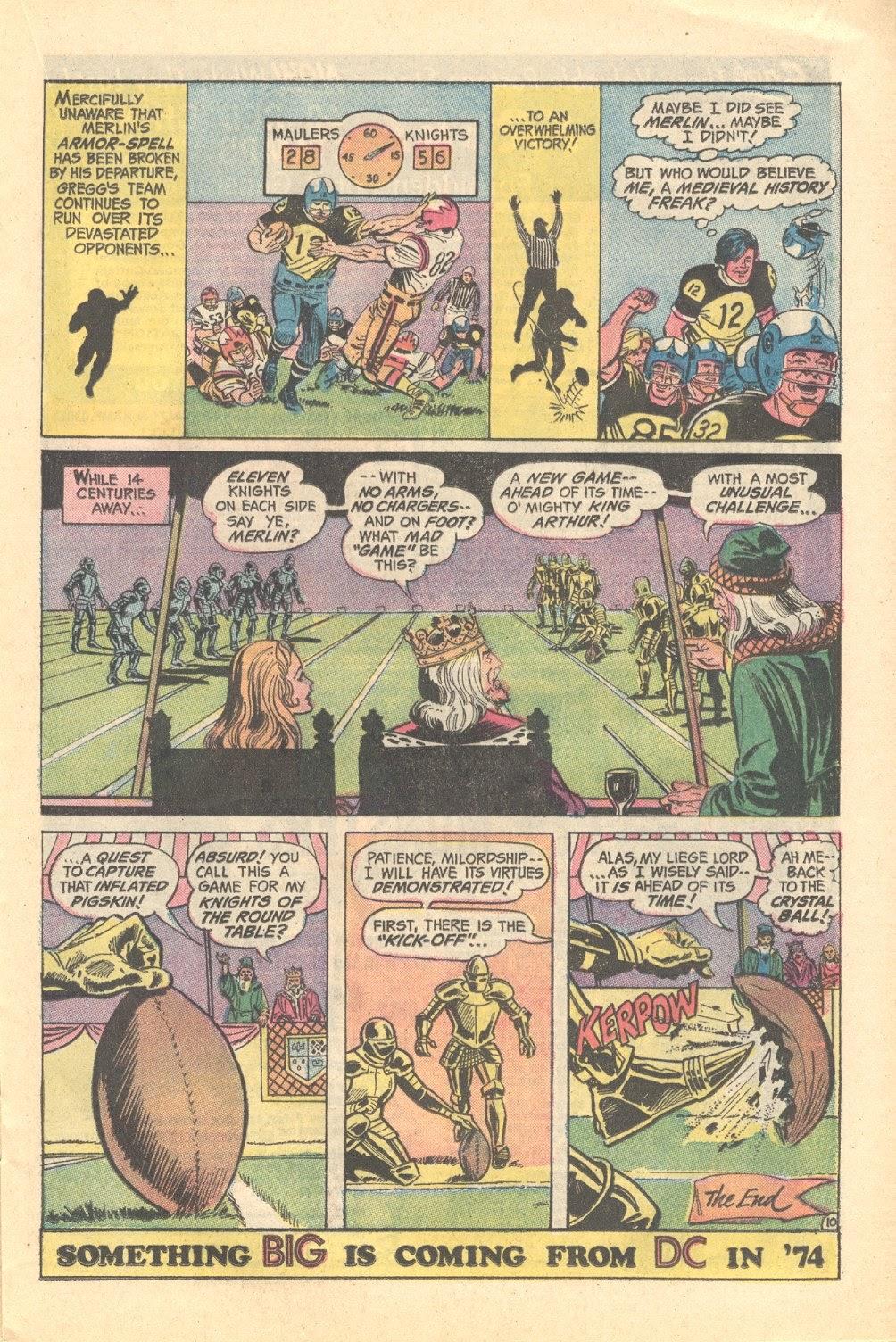 Read online Strange Sports Stories (1973) comic -  Issue #3 - 11