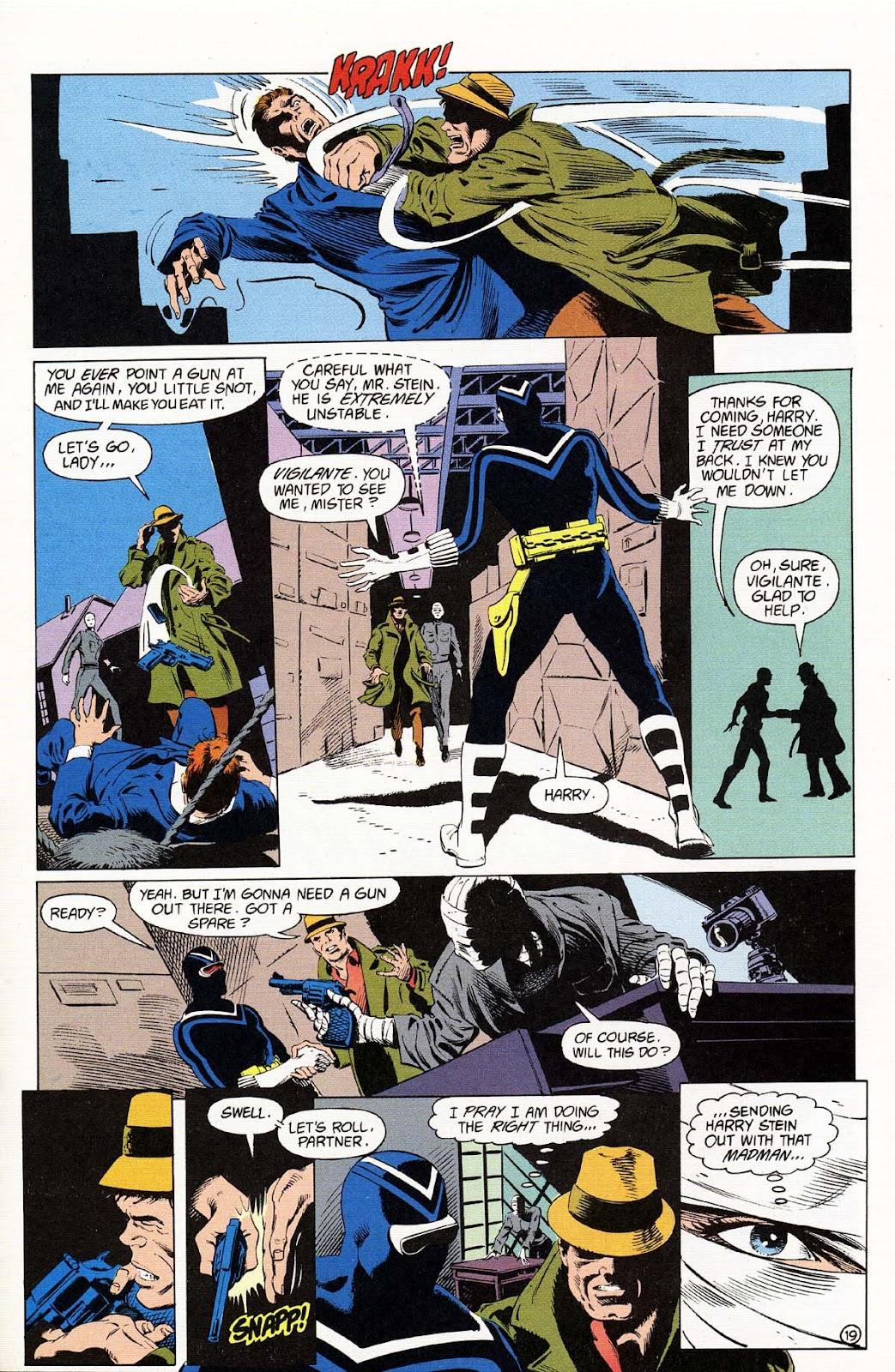 Vigilante (1983) issue 37 - Page 21