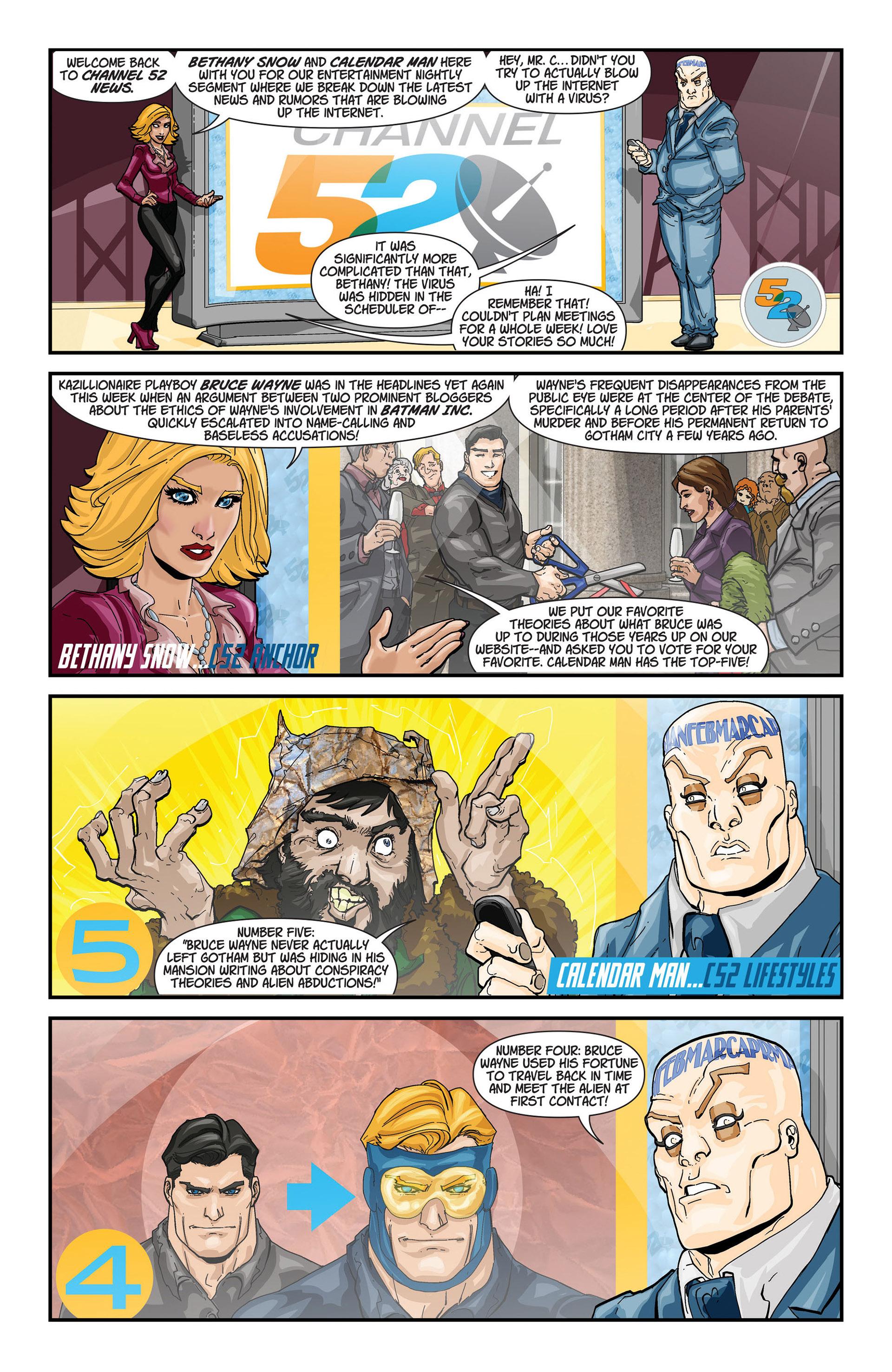 Read online Batman and Robin (2011) comic -  Issue #21 - Batman and Batgirl - 21