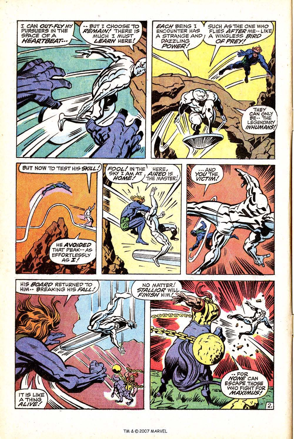 Silver Surfer (1968) issue 18 - Page 4