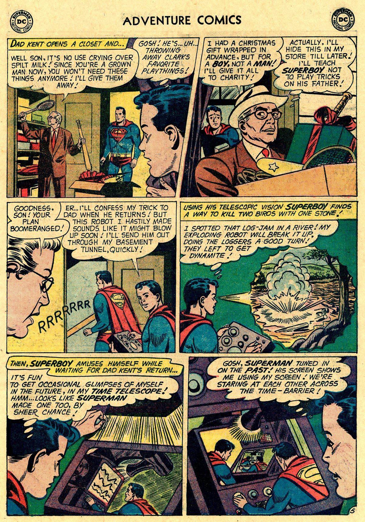Read online Adventure Comics (1938) comic -  Issue #265 - 7