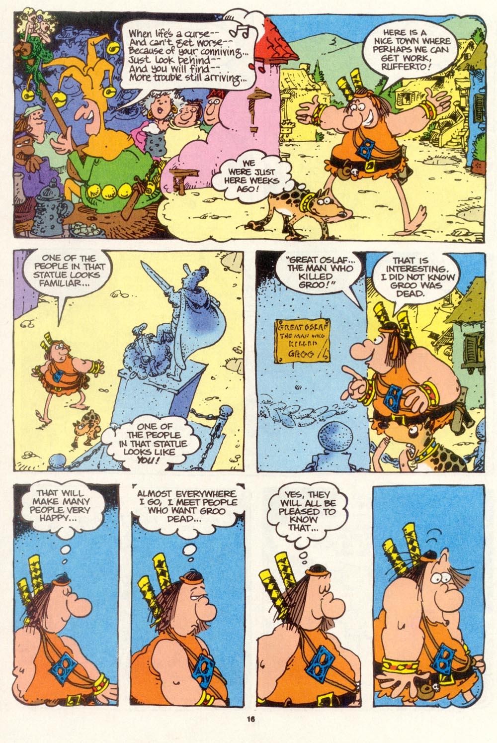 Read online Sergio Aragonés Groo the Wanderer comic -  Issue #111 - 18