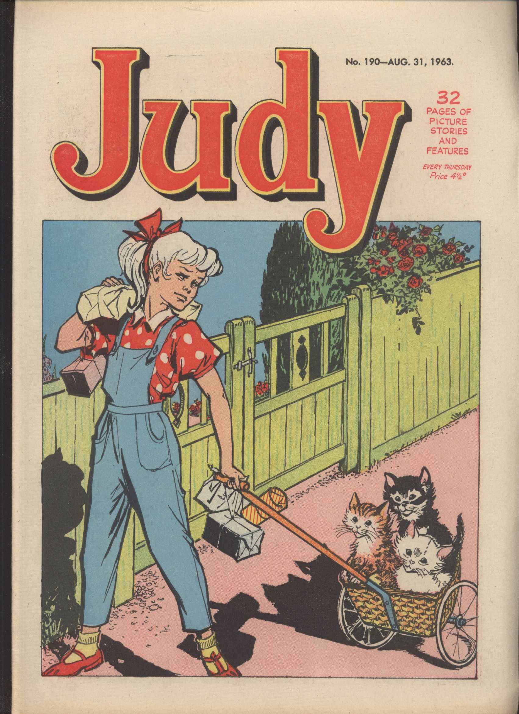 Read online Judy comic -  Issue #190 - 1
