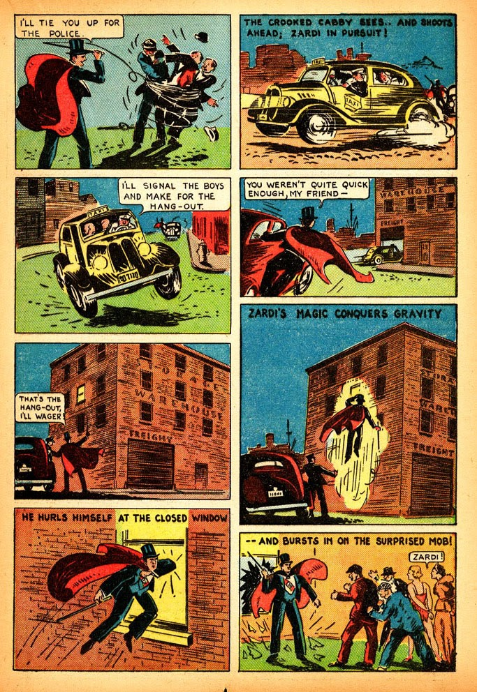Read online Amazing Man Comics comic -  Issue #12 - 31