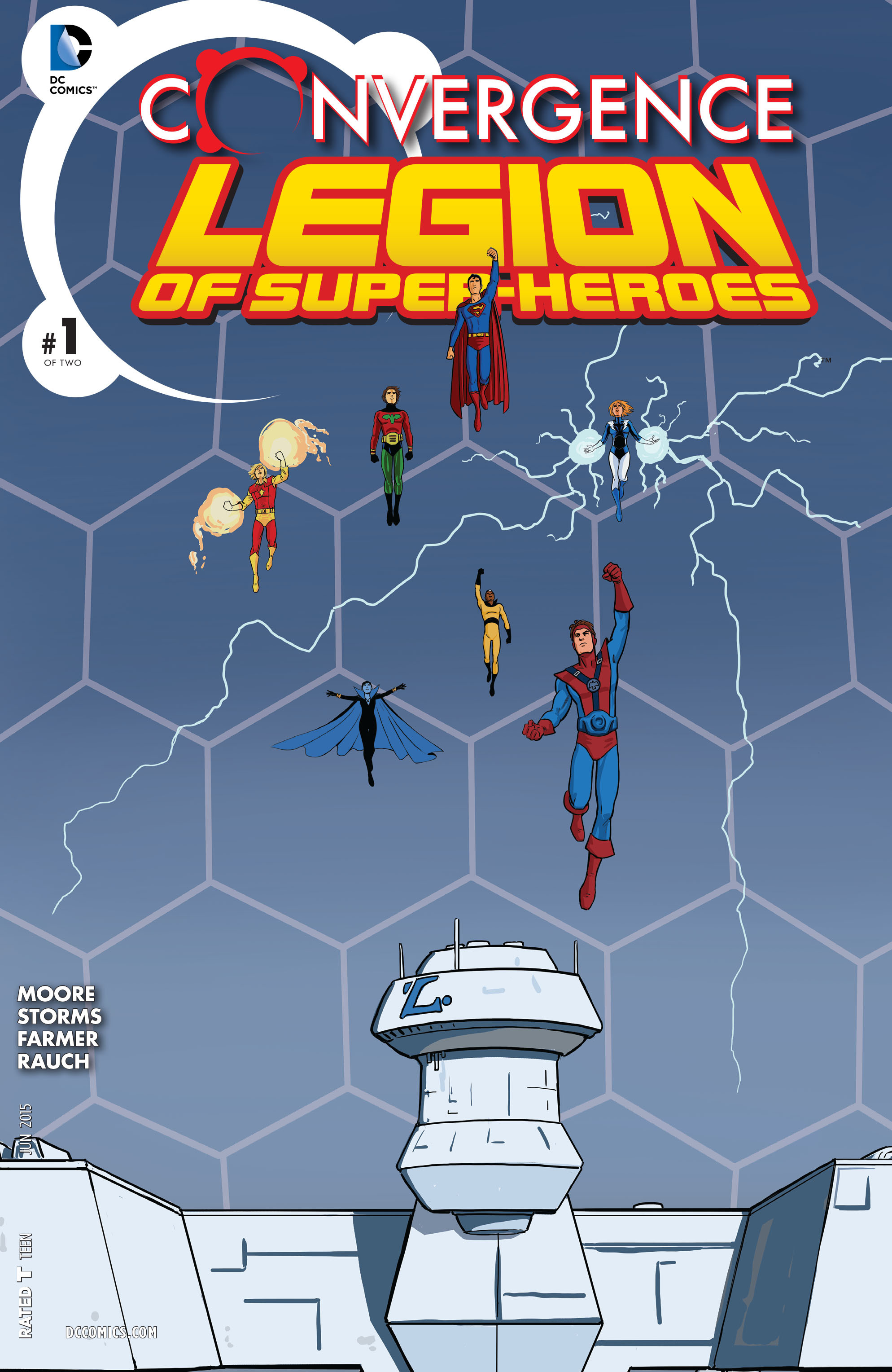 Read online Convergence Superboy and the Legion of Super-Heroes comic -  Issue #1 - 1