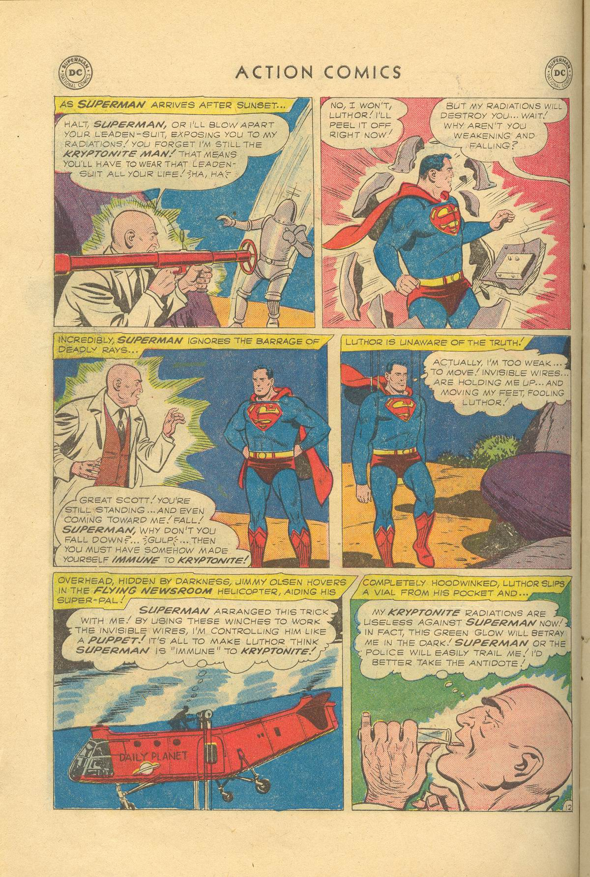 Read online Action Comics (1938) comic -  Issue #249 - 14