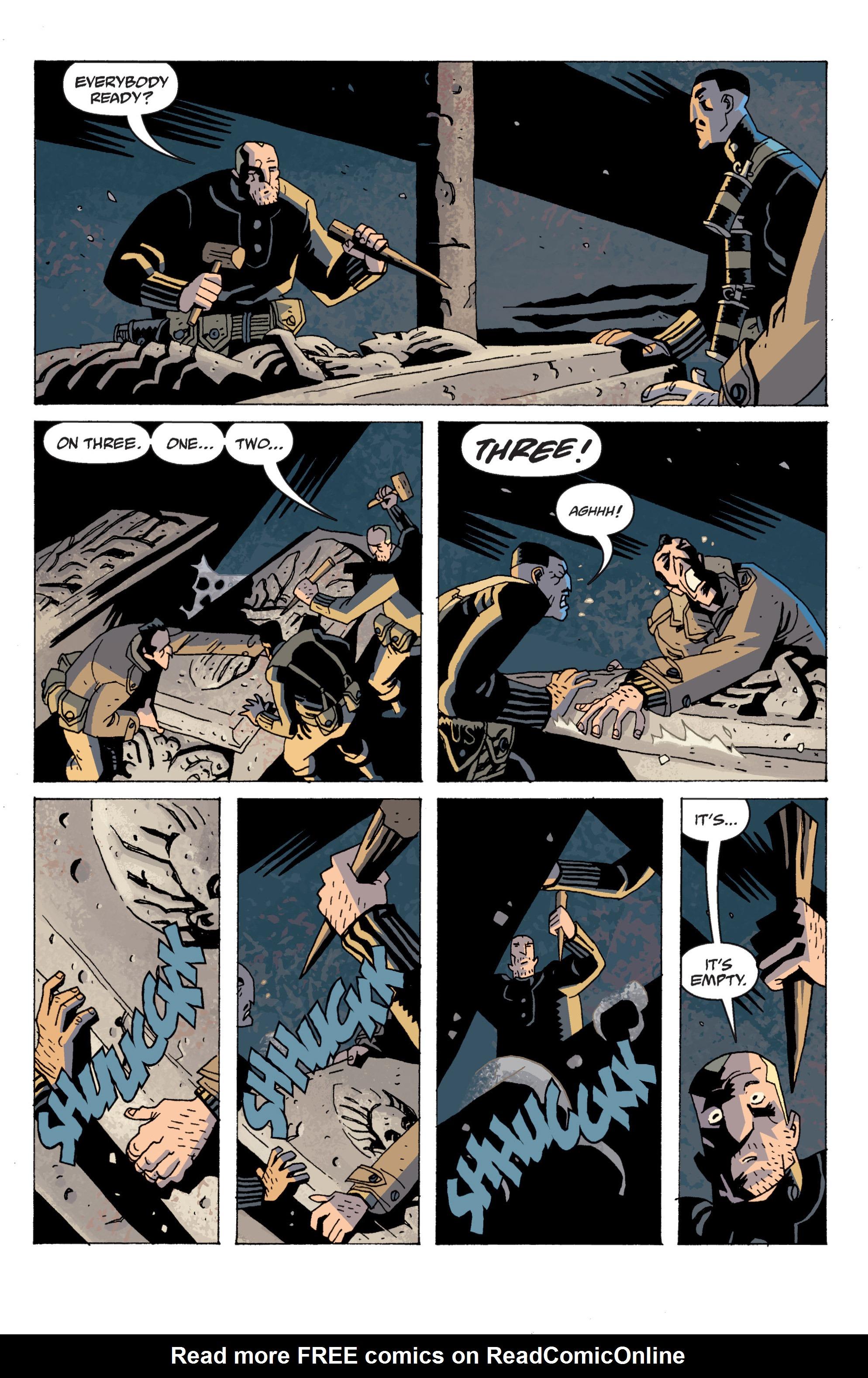 Read online B.P.R.D. (2003) comic -  Issue # TPB 13 - 61