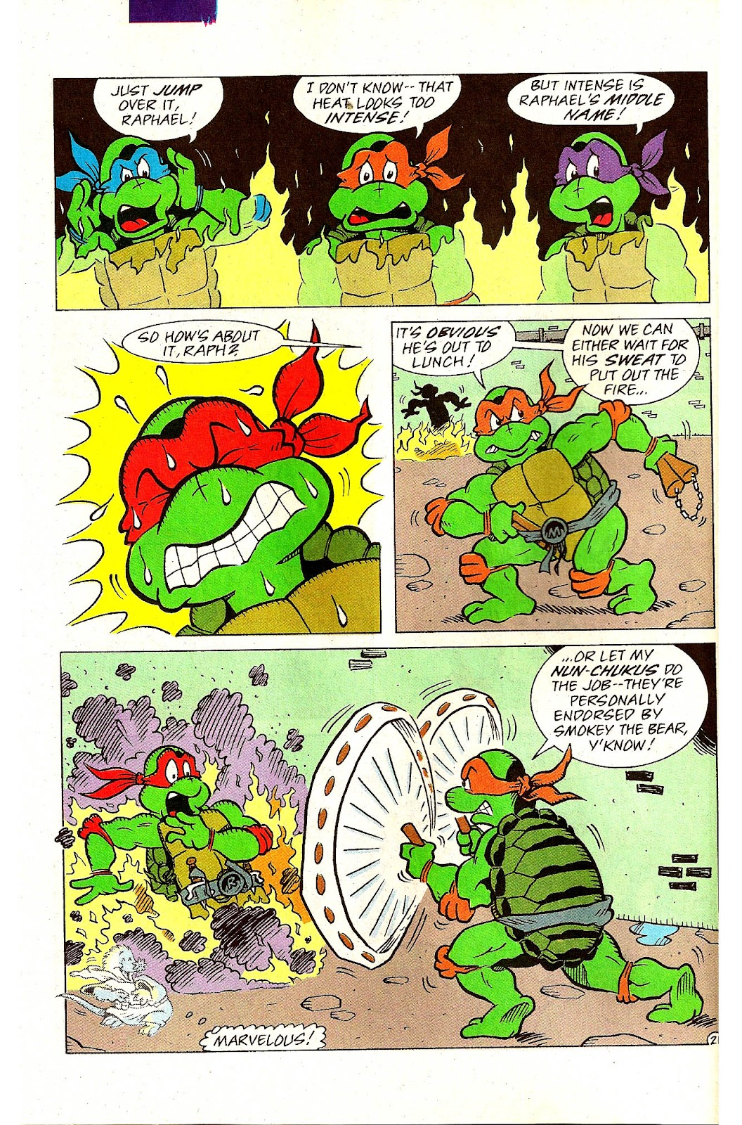 Comic Teenage Mutant Ninja Turtles Adventures (1989) issue 9