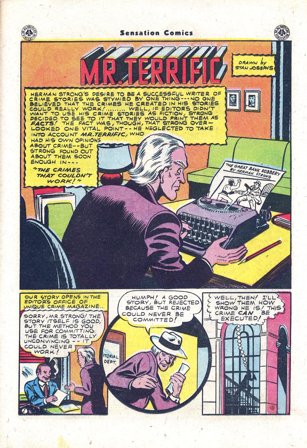 Read online Sensation (Mystery) Comics comic -  Issue #43 - 34