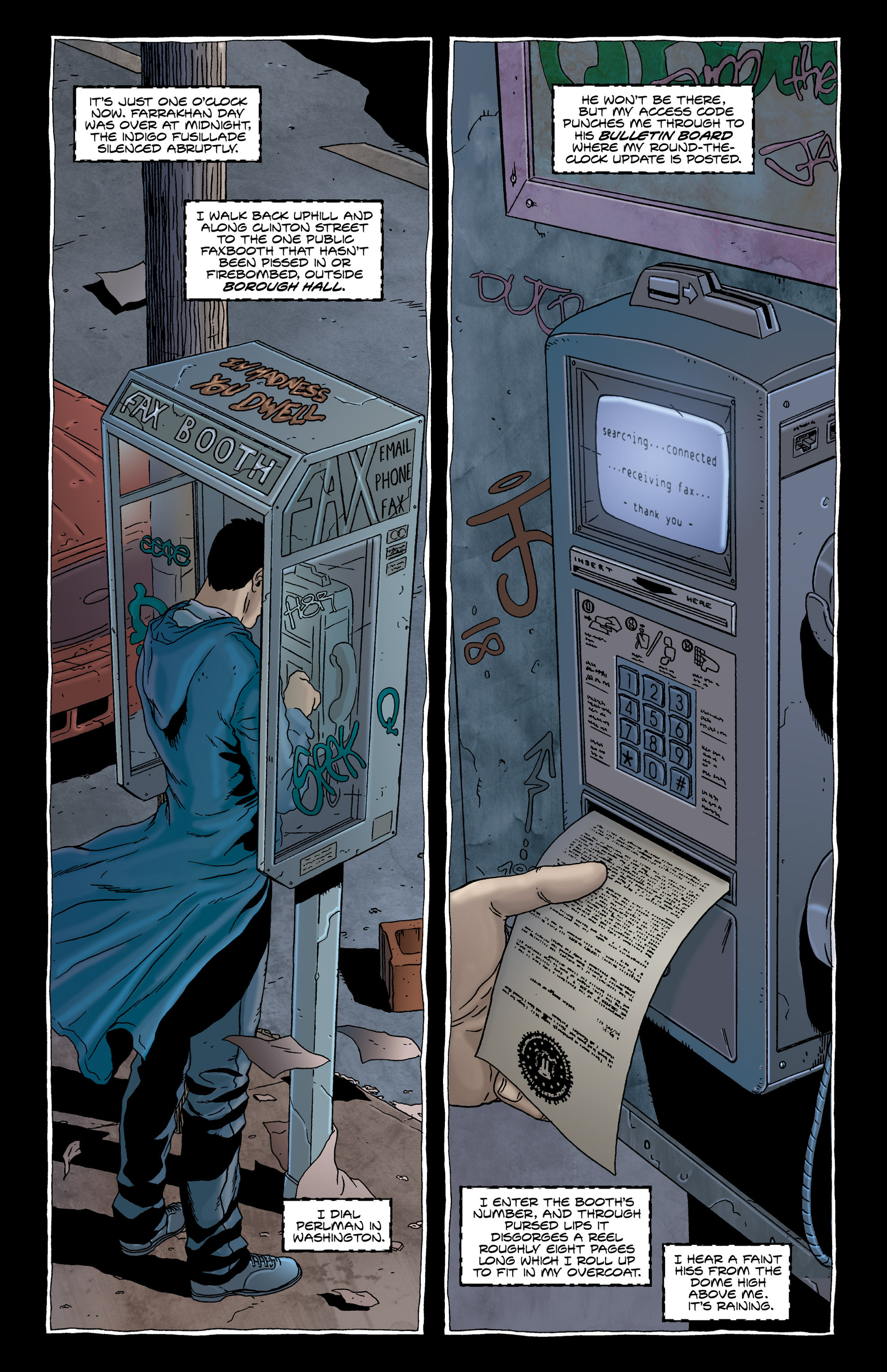 Read online Alan Moore's The Courtyard comic -  Issue # TPB - 26