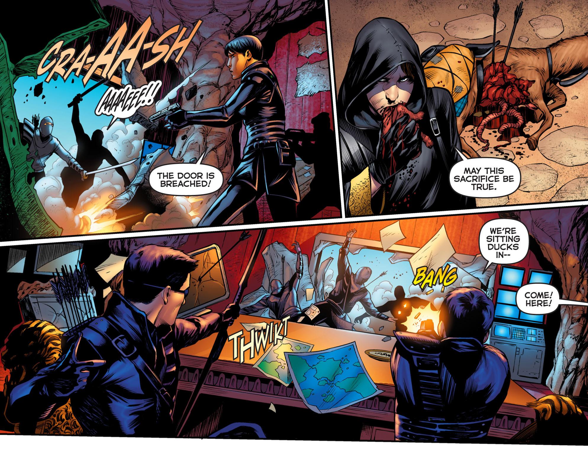 Read online Arrow: The Dark Archer comic -  Issue #2 - 21