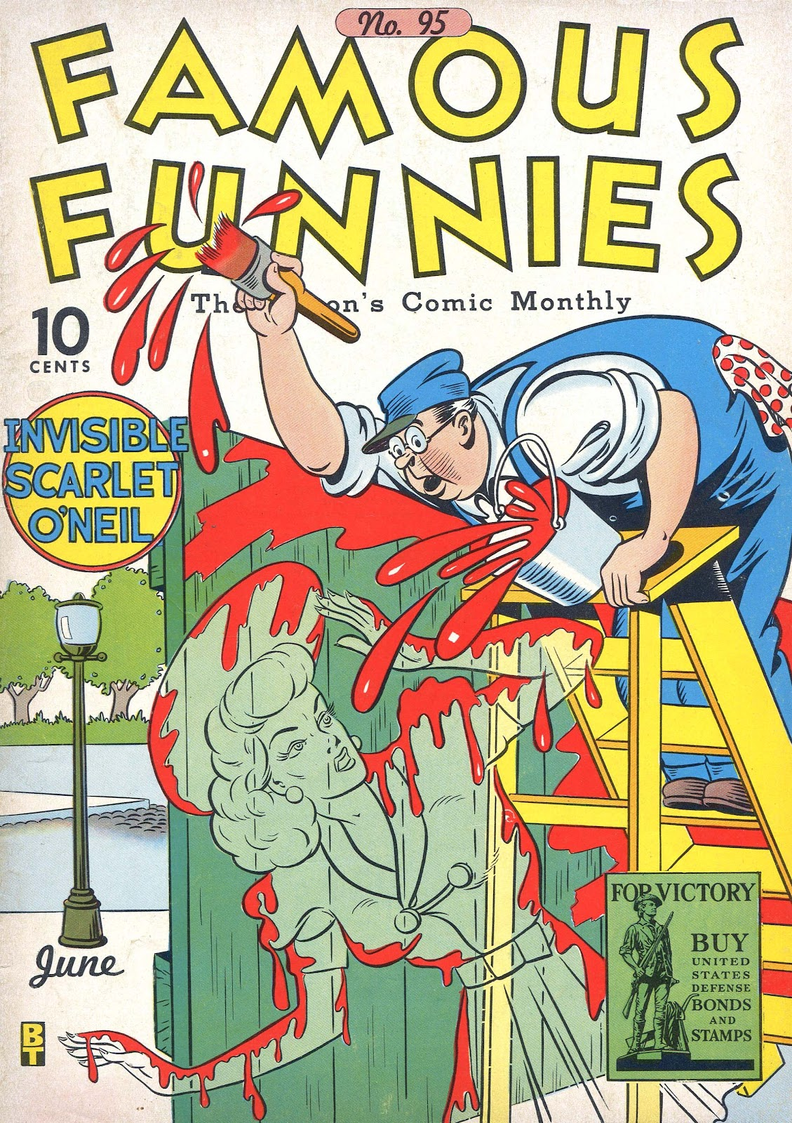 Read online Famous Funnies comic -  Issue #95 - 1