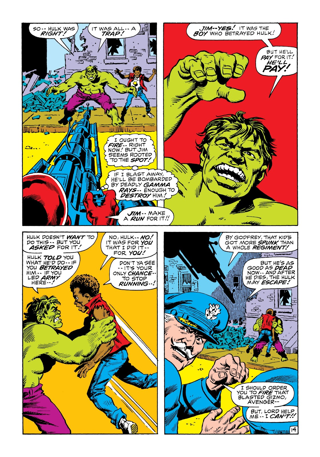 Read online Marvel Masterworks: The Incredible Hulk comic -  Issue # TPB 6 (Part 3) - 7