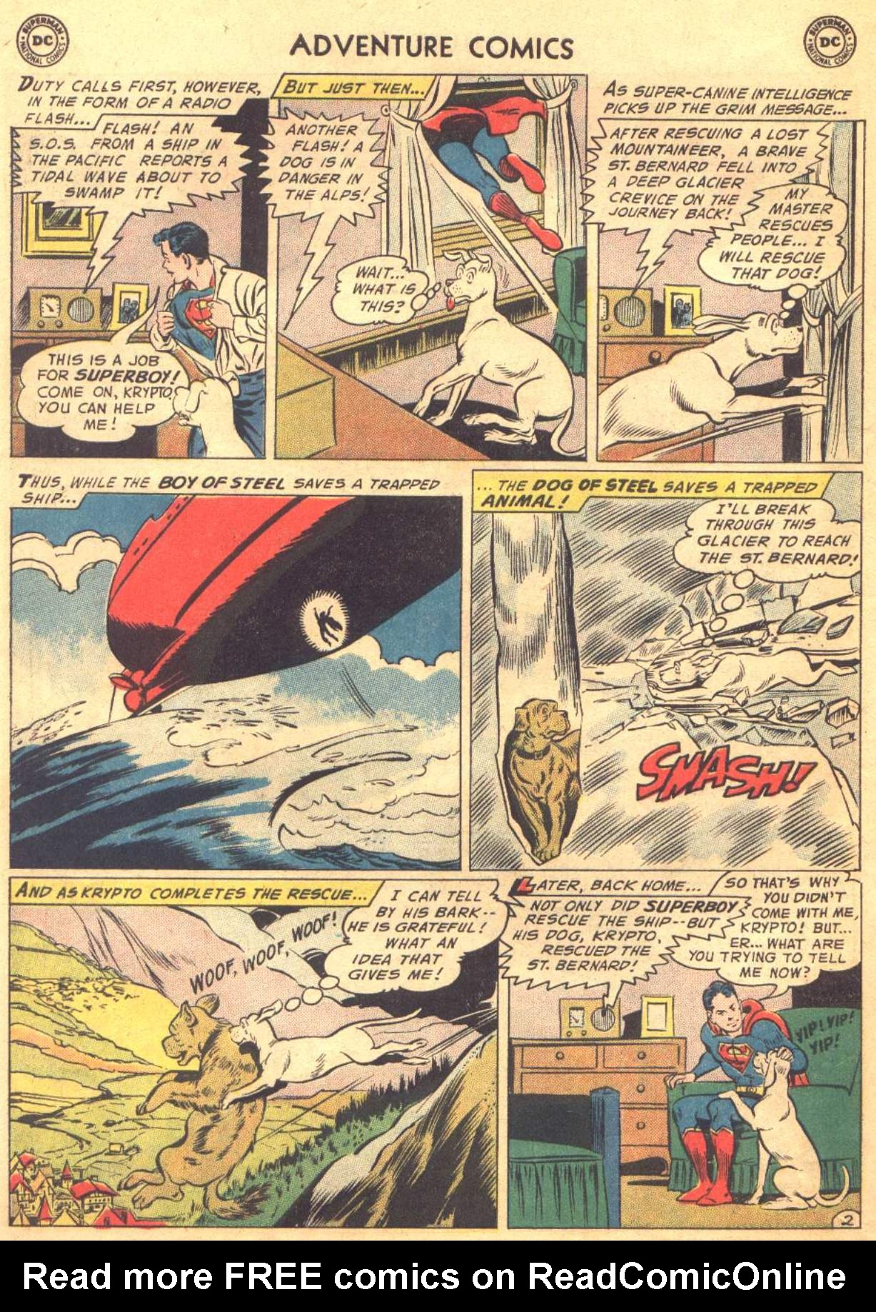 Read online Adventure Comics (1938) comic -  Issue #330 - 23