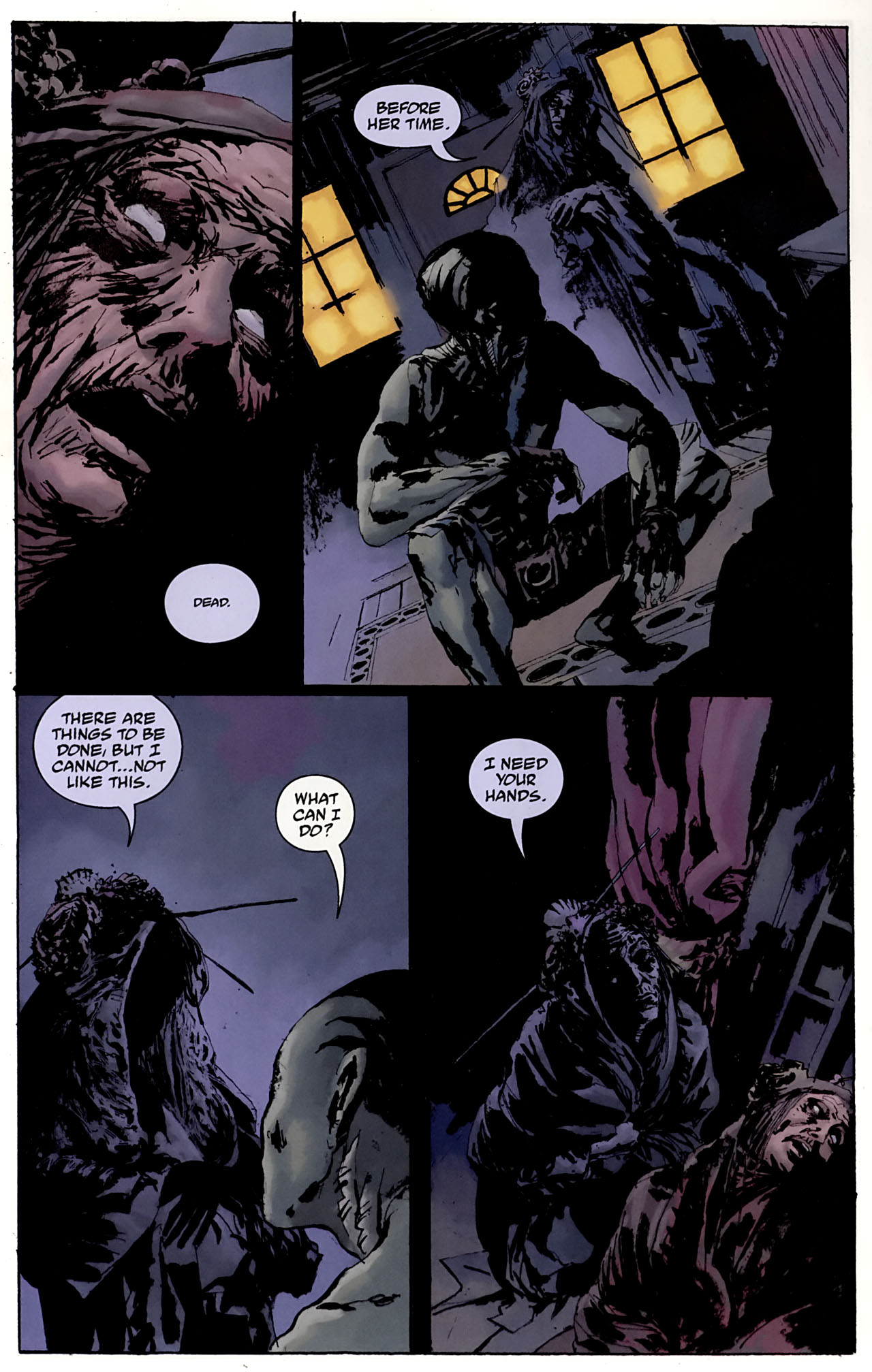 Read online Abe Sapien: The Drowning comic -  Issue #3 - 24