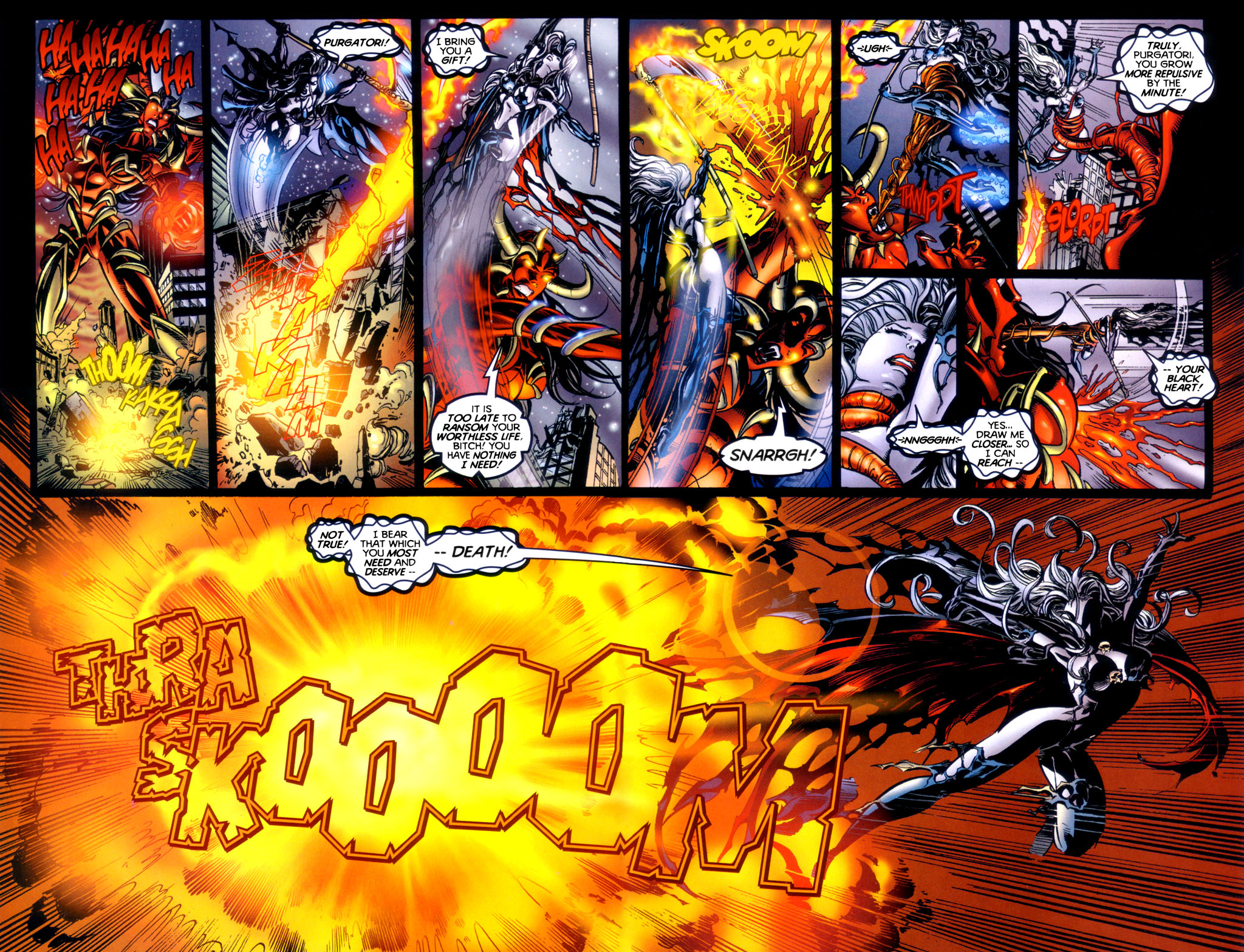 Read online Lady Death vs. Purgatori comic -  Issue # Full - 21
