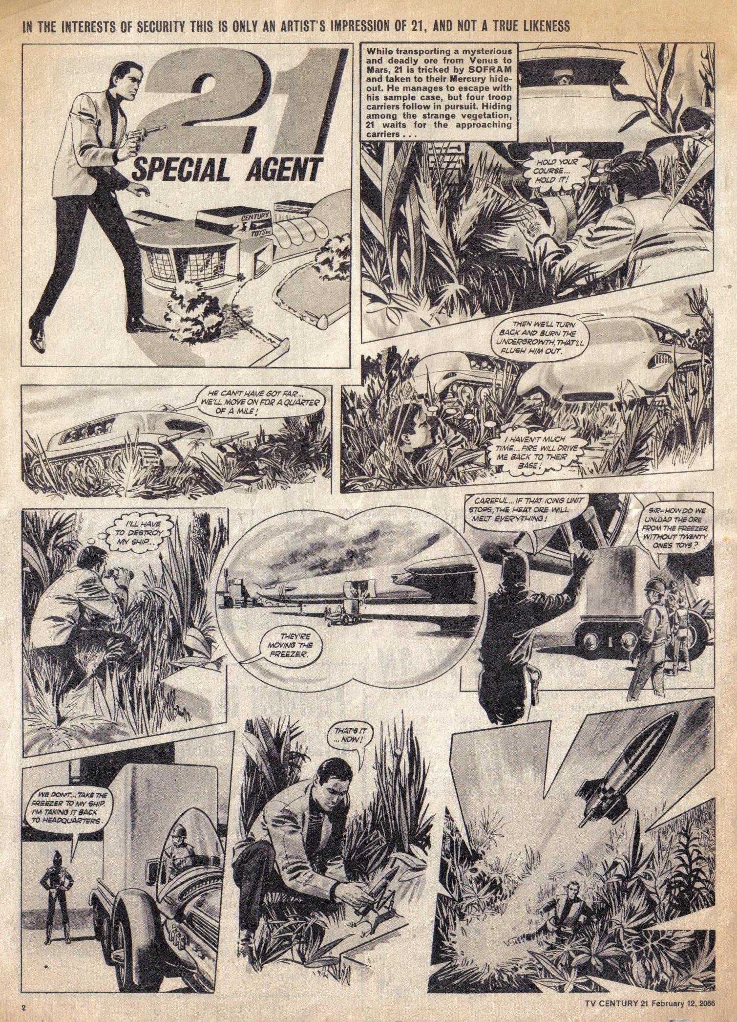 Read online TV Century 21 (TV 21) comic -  Issue #56 - 2