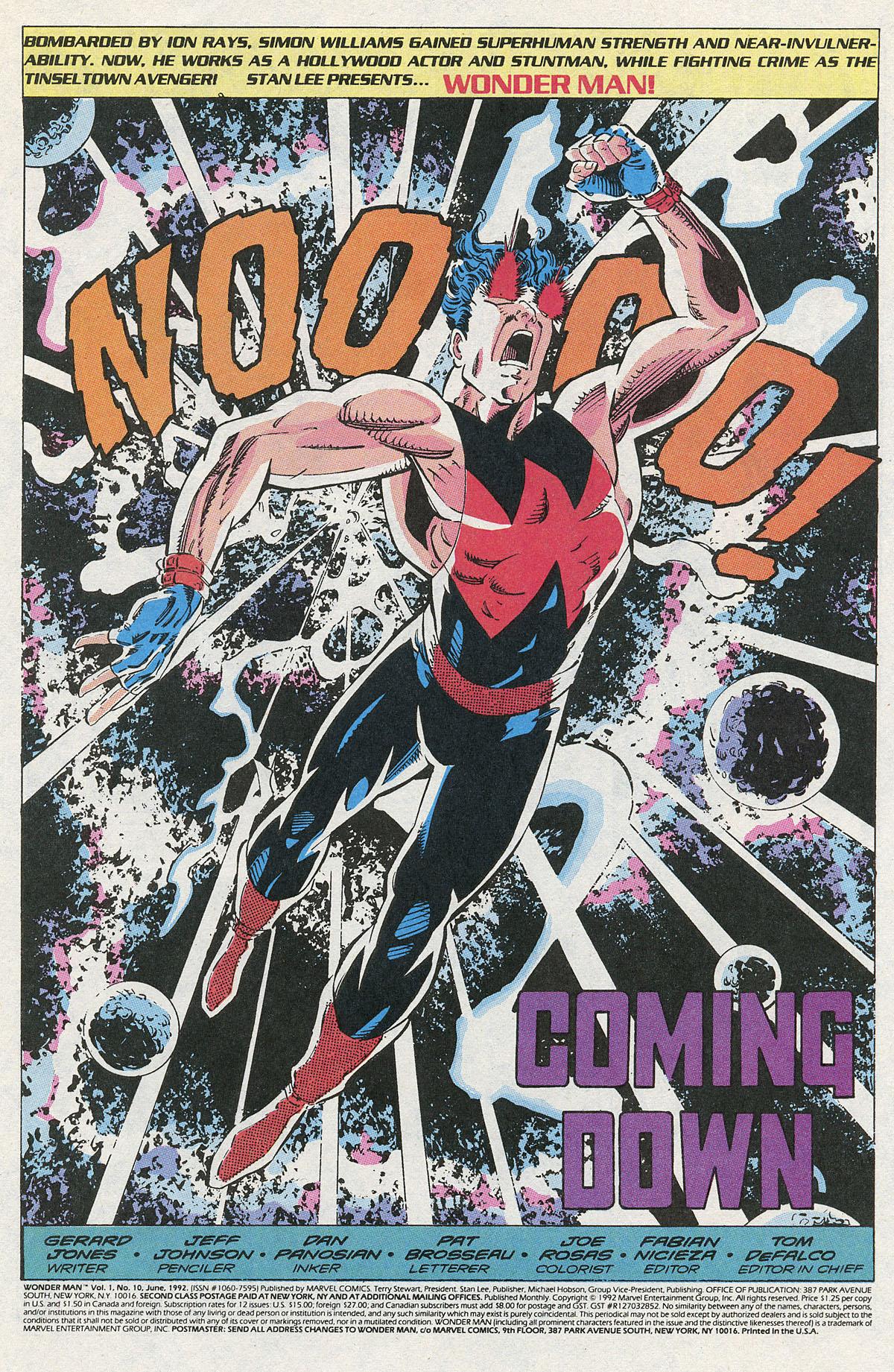 Read online Wonder Man (1991) comic -  Issue #10 - 2