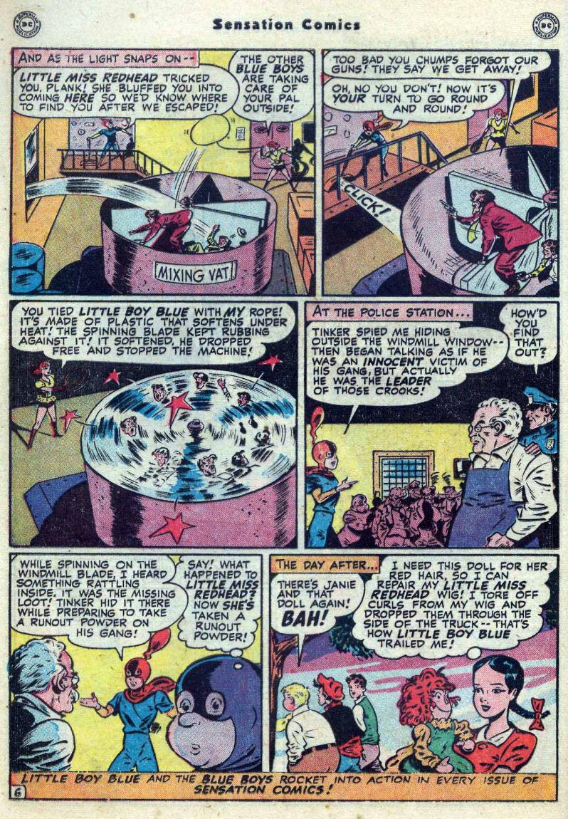 Read online Sensation (Mystery) Comics comic -  Issue #82 - 22