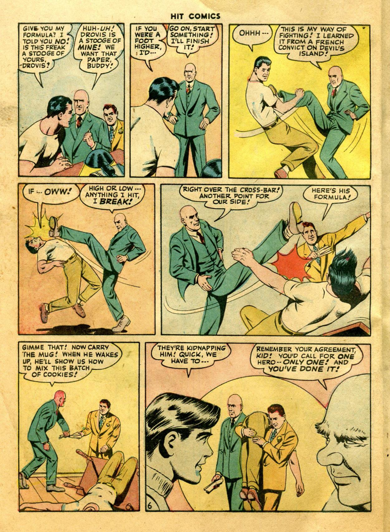 Read online Hit Comics comic -  Issue #44 - 8