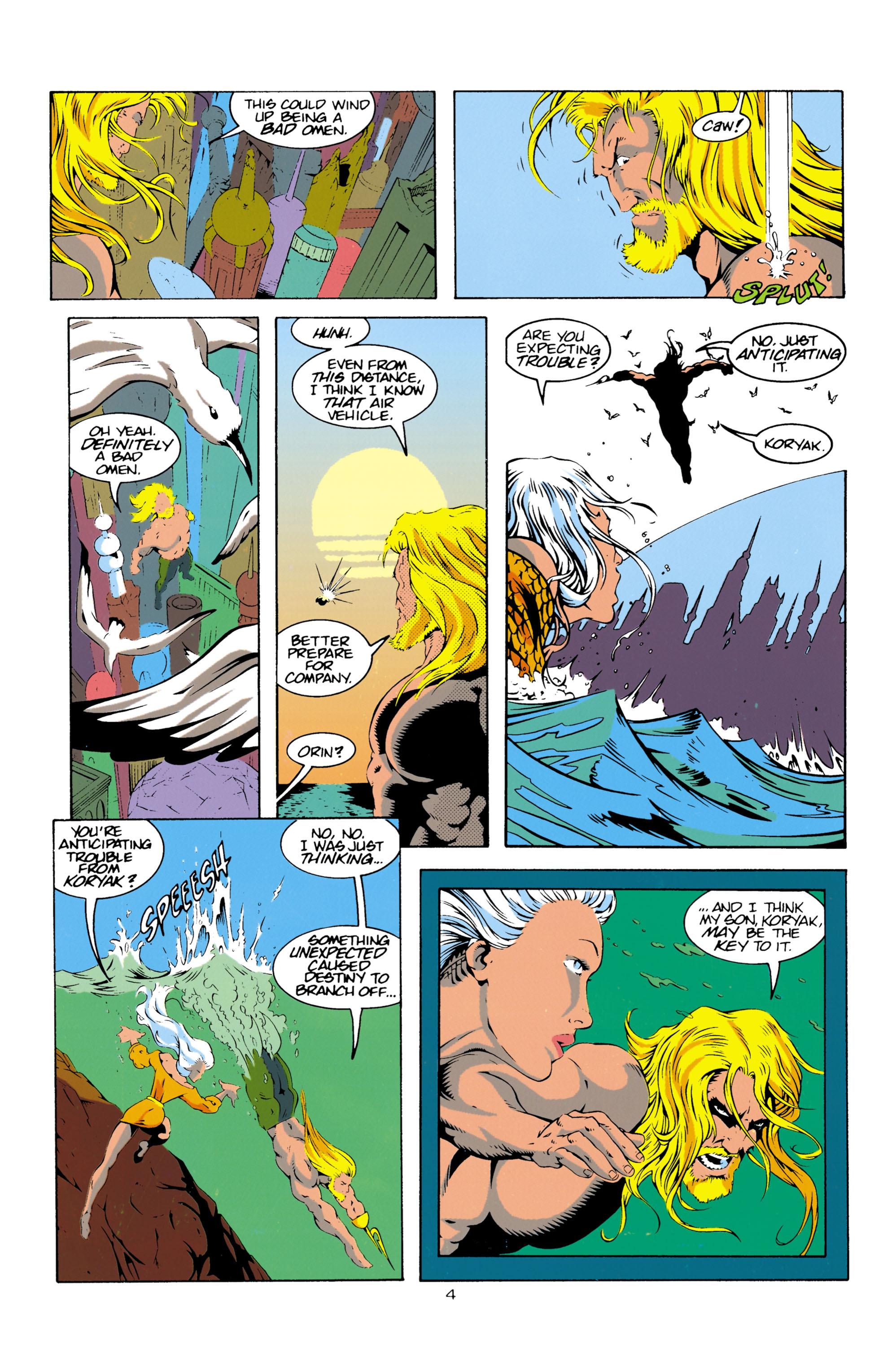 Read online Aquaman (1994) comic -  Issue #16 - 5