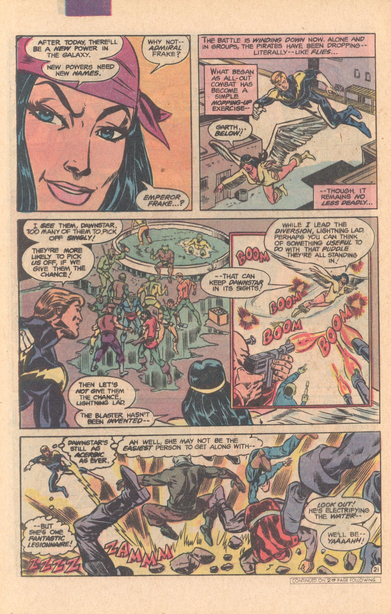 Legion of Super-Heroes (1980) 275 Page 21