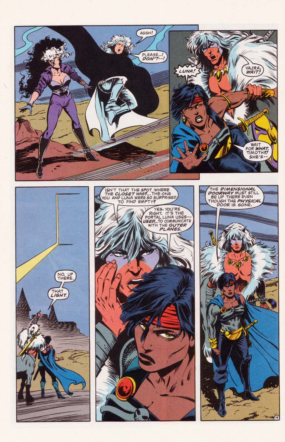 Read online Advanced Dungeons & Dragons comic -  Issue #22 - 19