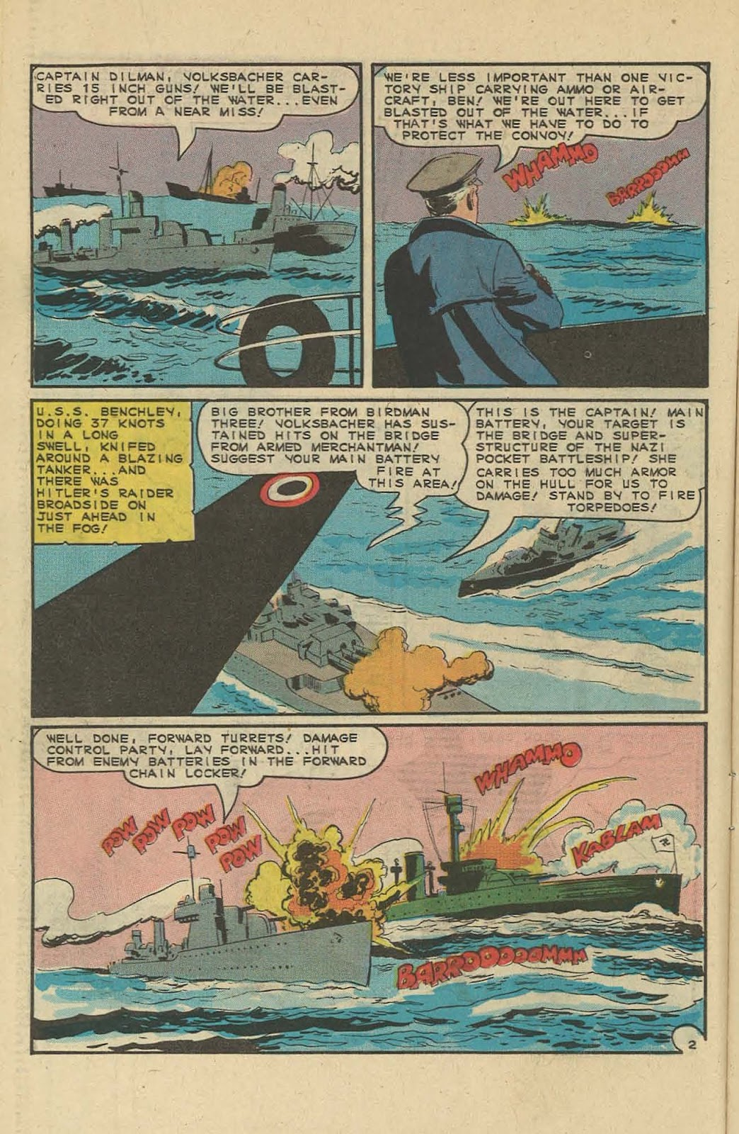 Read online Fightin' Navy comic -  Issue #127 - 10