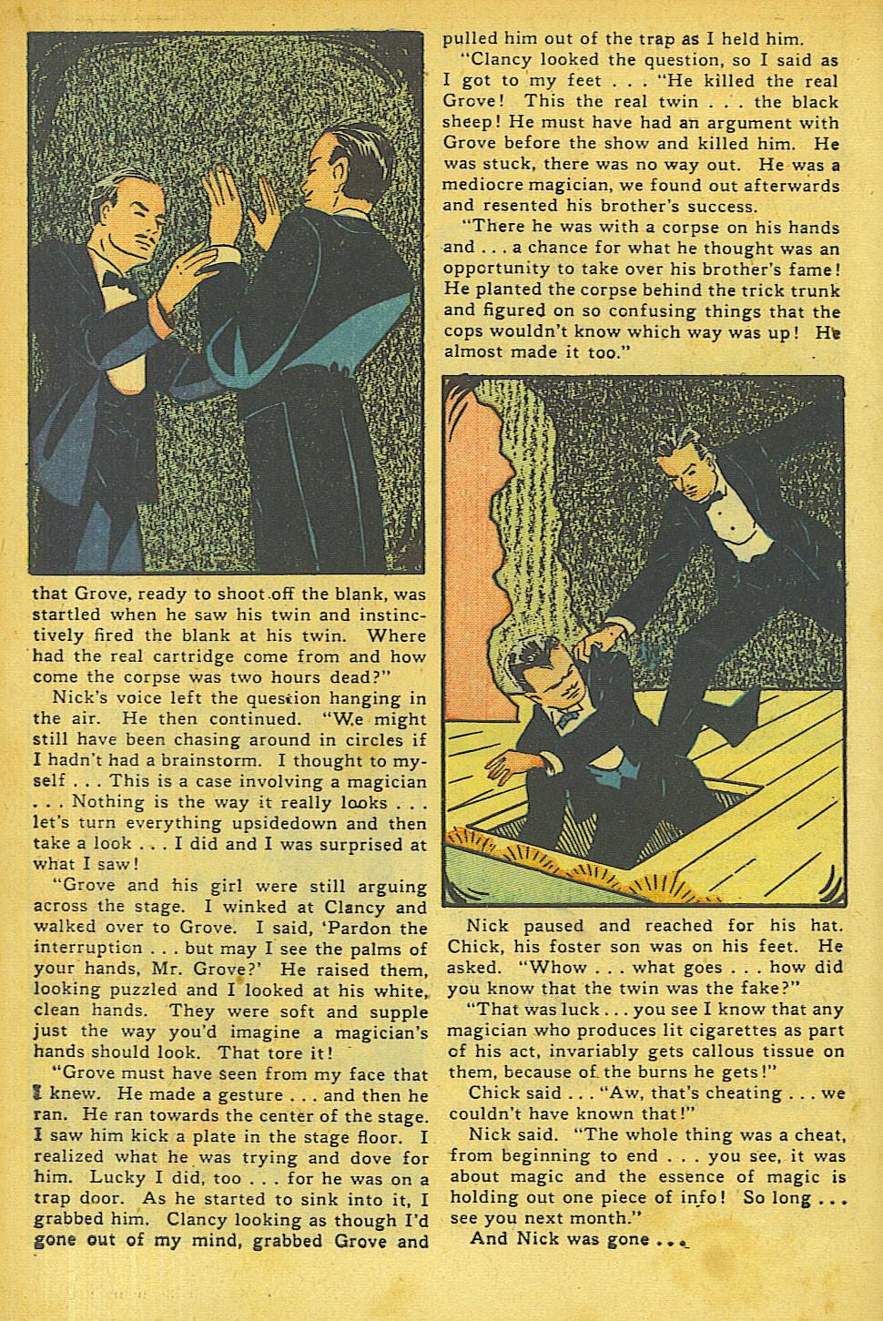 Read online Shadow Comics comic -  Issue #63 - 12