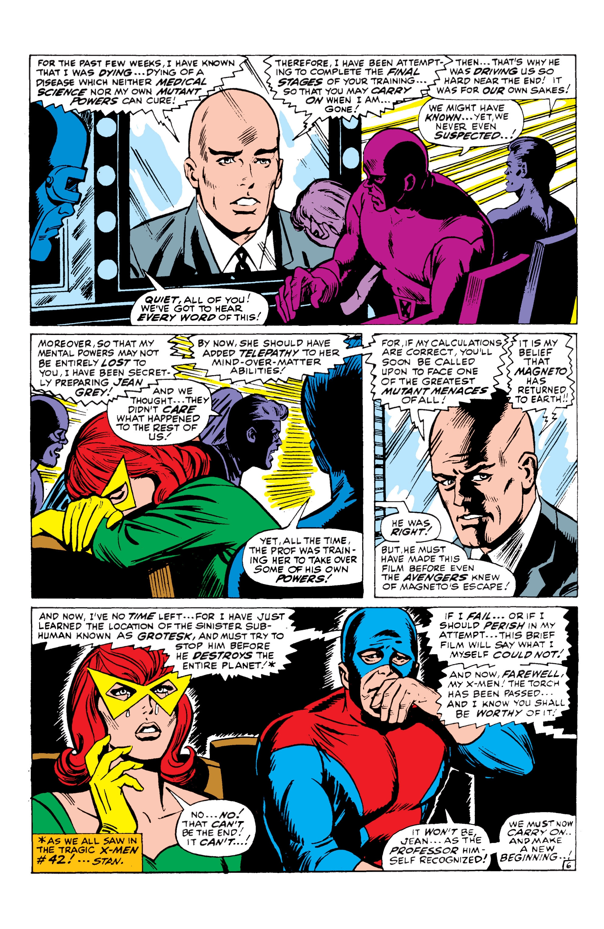 Read online Uncanny X-Men (1963) comic -  Issue #43 - 7