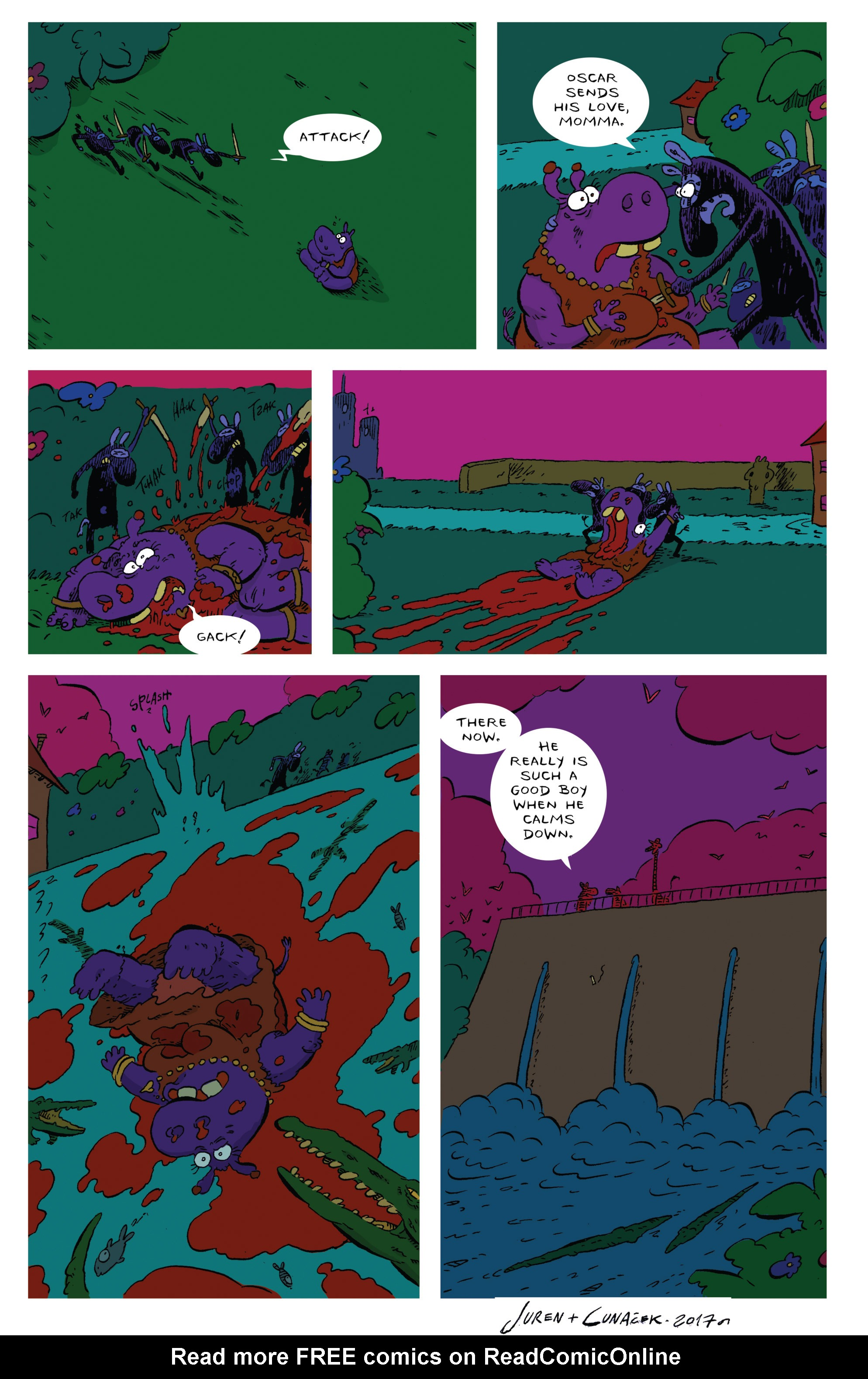 Read online Animal Noir comic -  Issue #4 - 22