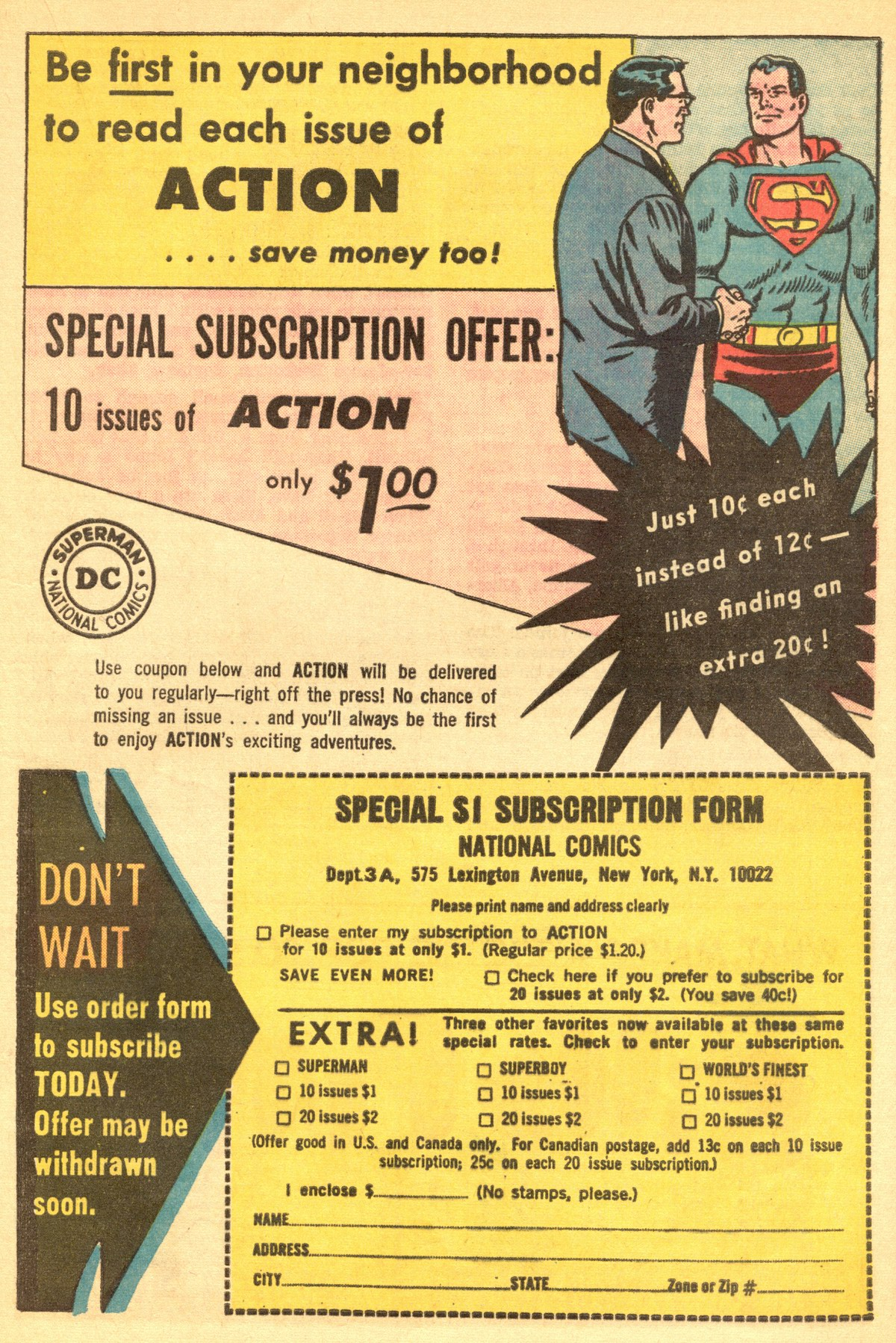 Read online Action Comics (1938) comic -  Issue #319 - 33
