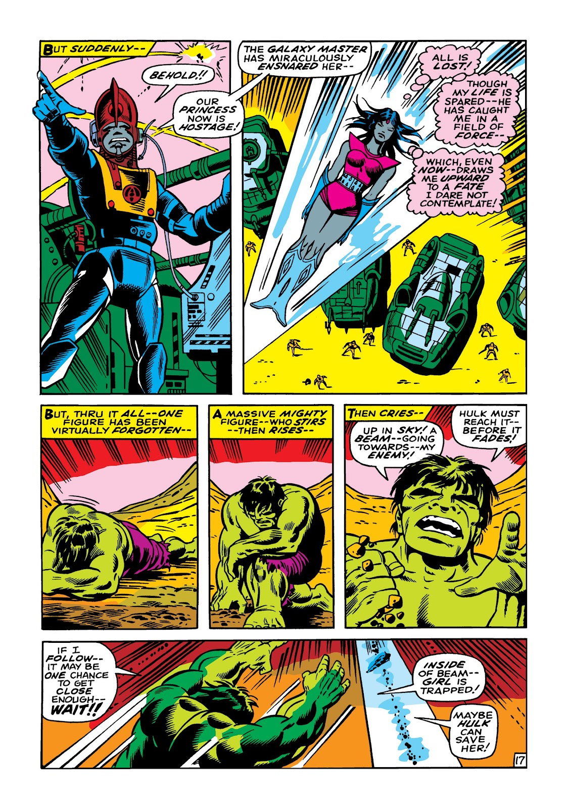 Read online Marvel Masterworks: The Incredible Hulk comic -  Issue # TPB 5 (Part 1) - 44
