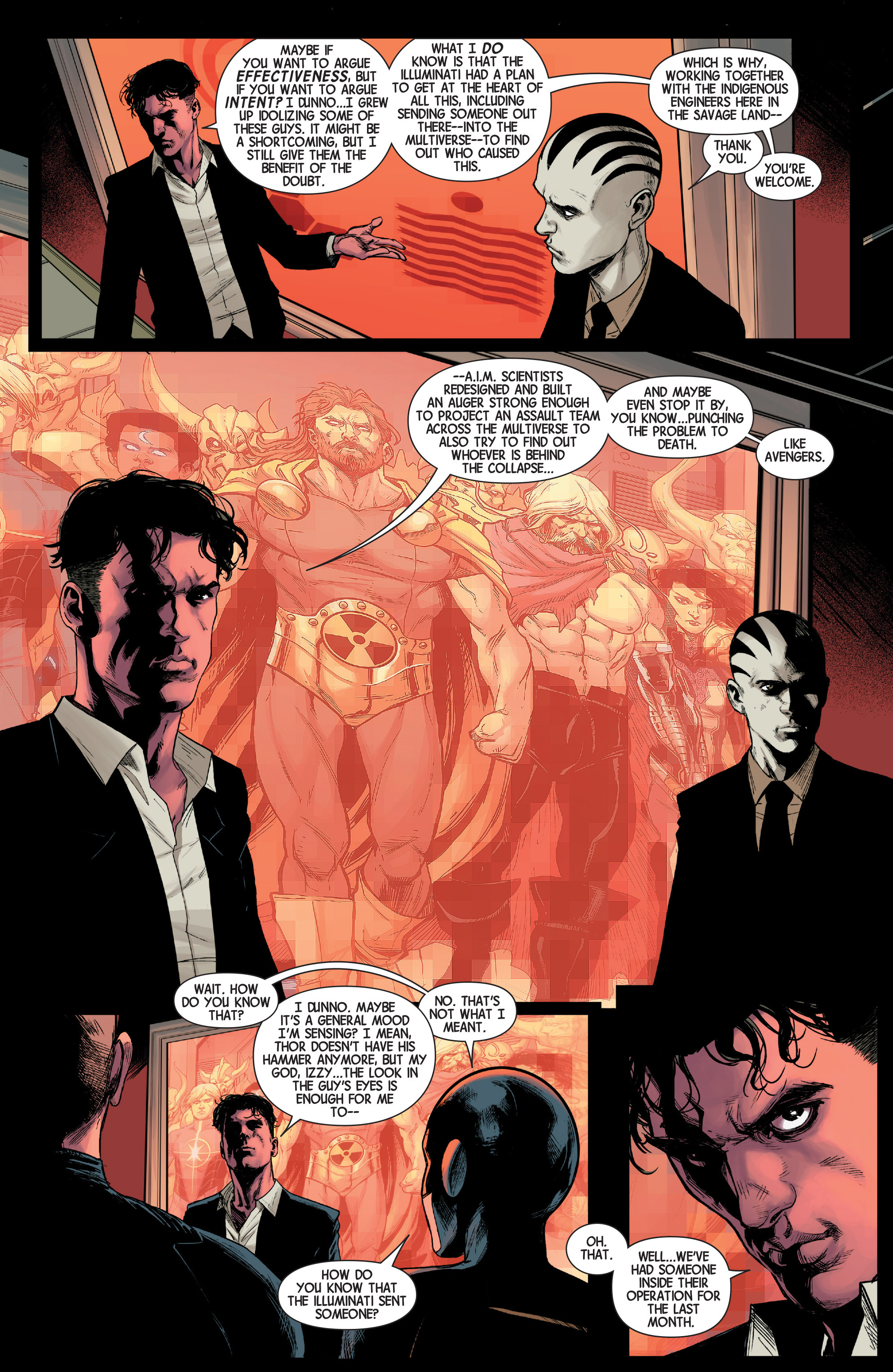 Read online Avengers (2013) comic -  Issue #38 - 12