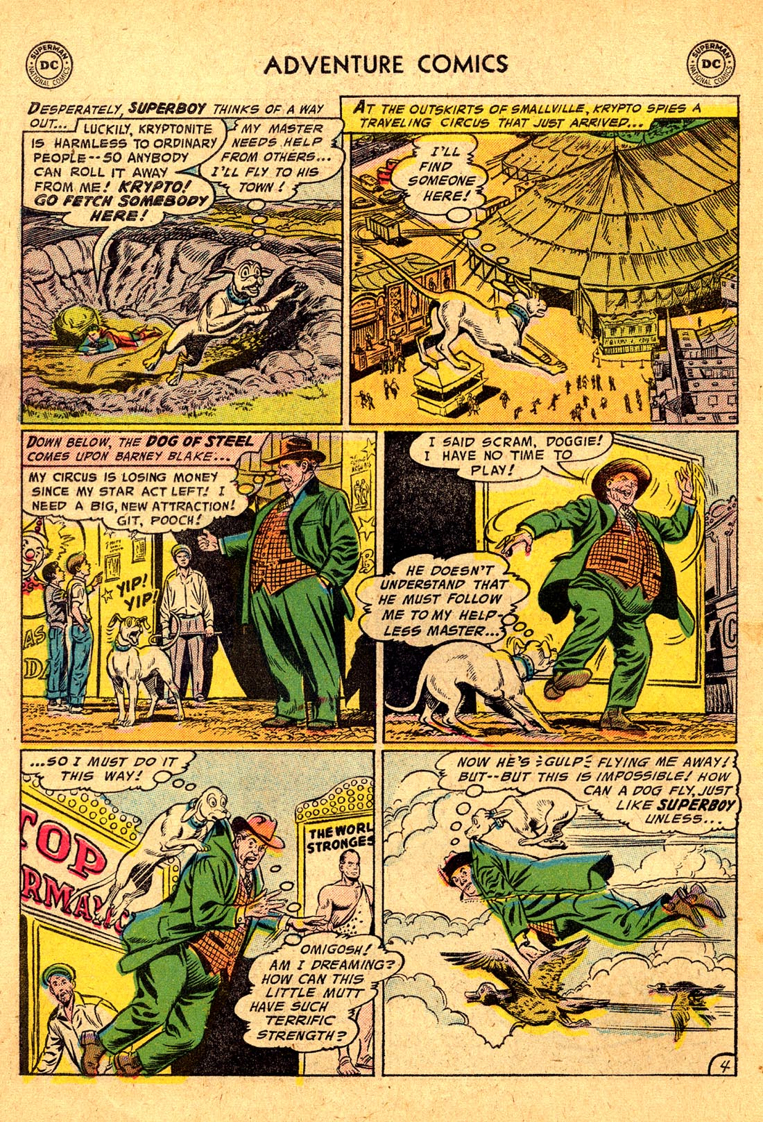 Read online Adventure Comics (1938) comic -  Issue #220 - 6