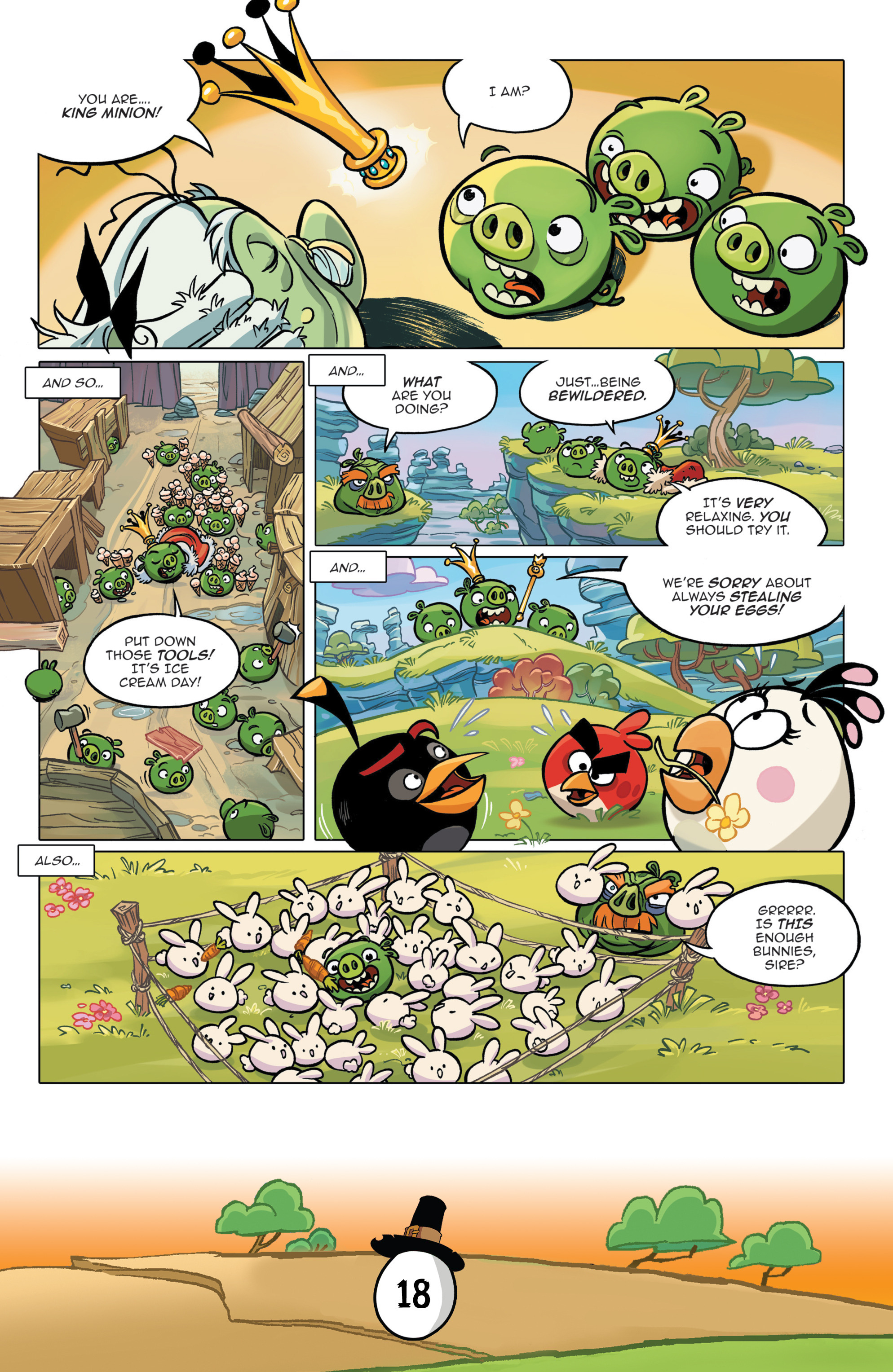 Read online Angry Birds Comics (2016) comic -  Issue #11 - 20