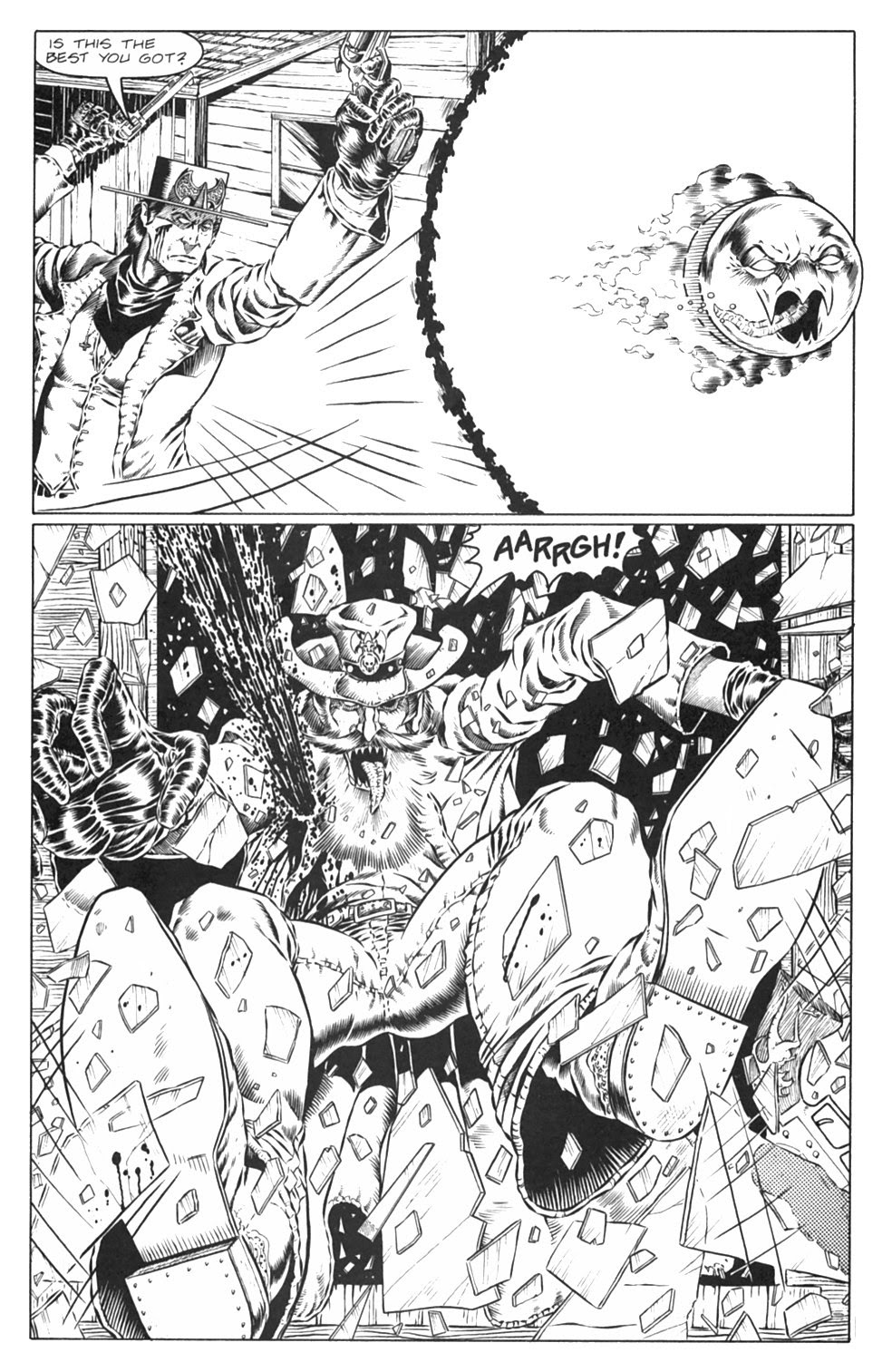 Read online Gunfighters in Hell comic -  Issue #3 - 24