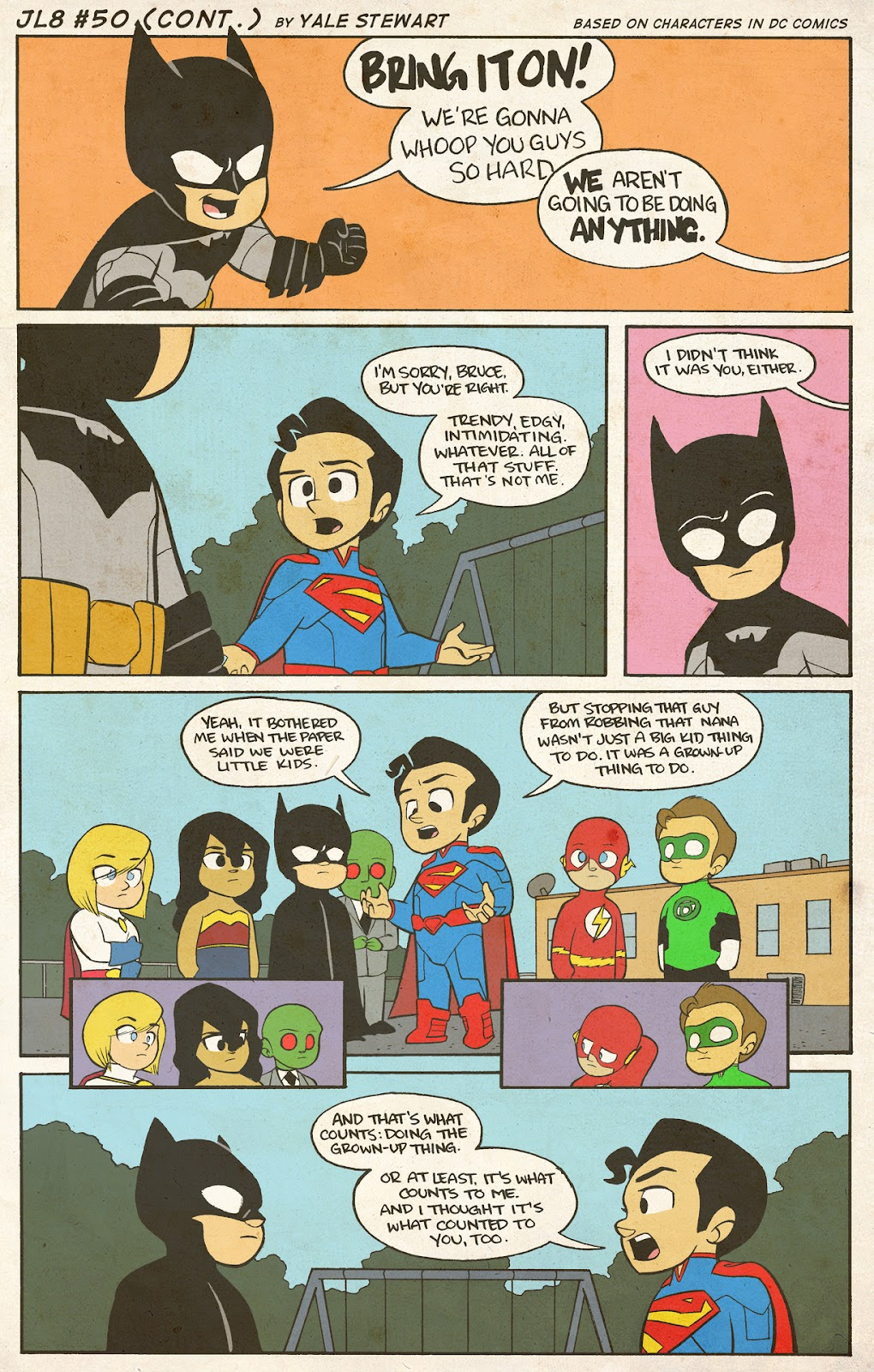 Read online JL8 – The Complete Collection comic -  Issue # TPB (Part 1) - 22