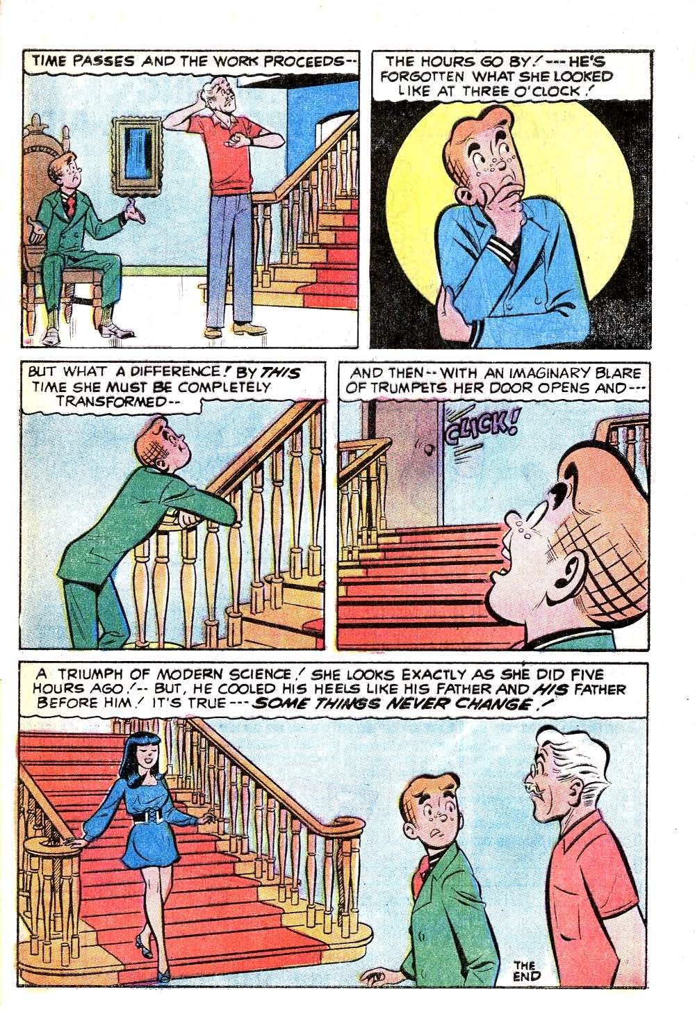 Read online Archie (1960) comic -  Issue #215 - 33