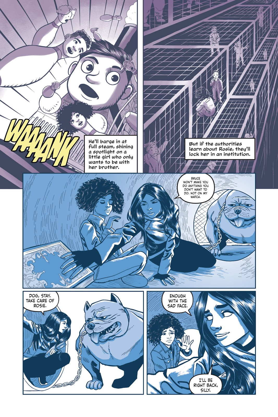 Read online Under the Moon: A Catwoman Tale comic -  Issue # TPB (Part 2) - 84