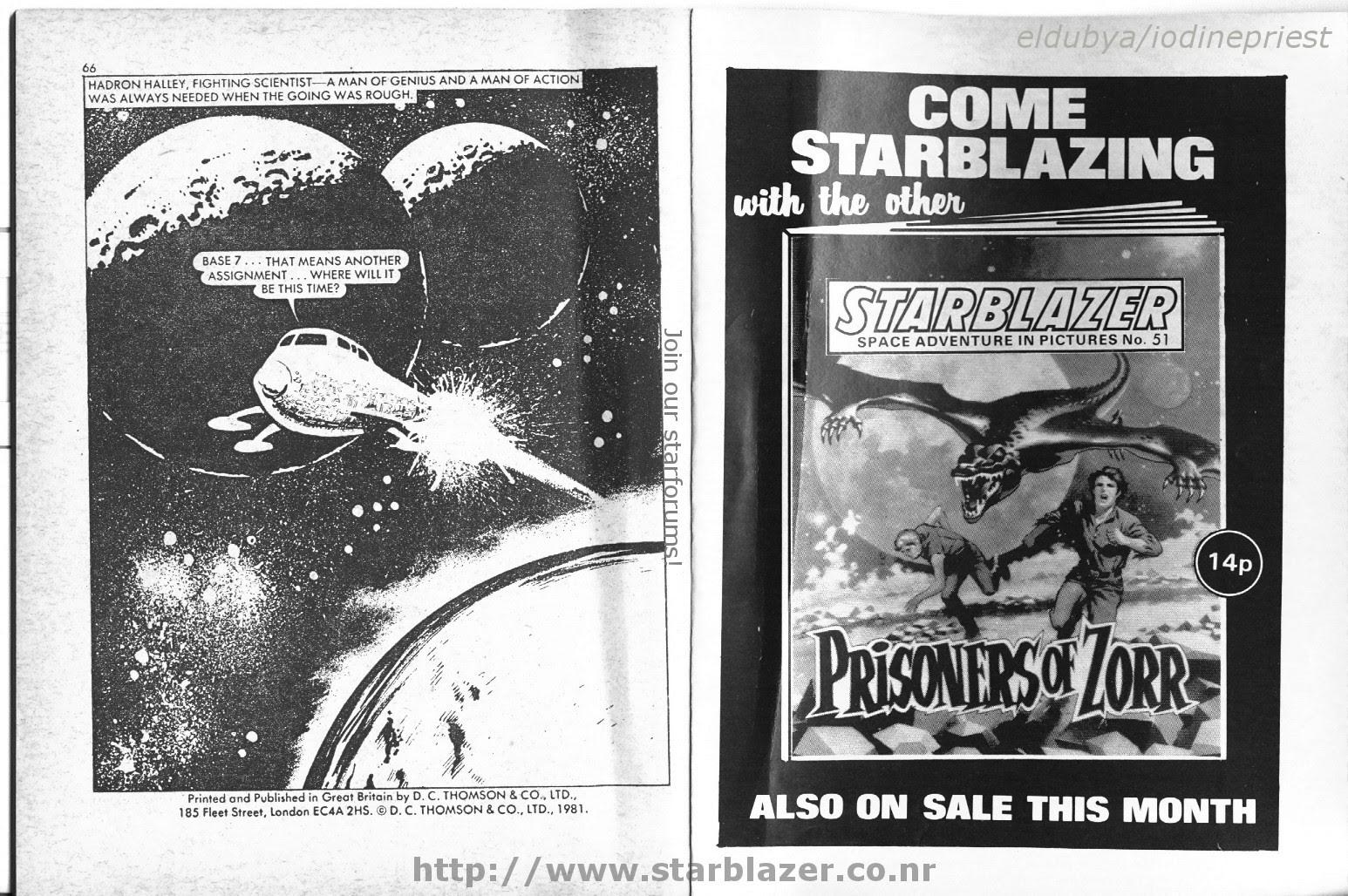 Starblazer issue 50 - Page 35