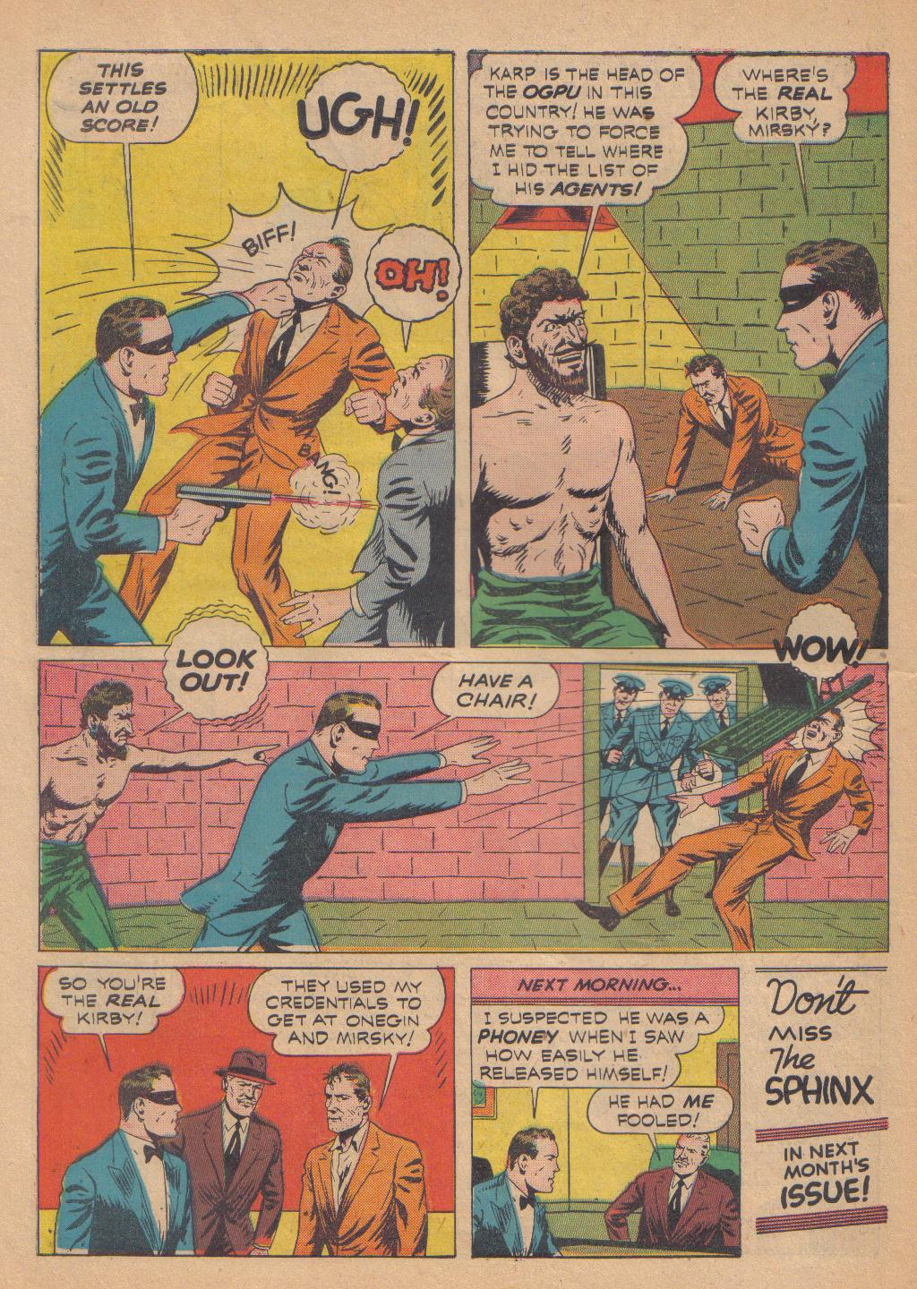 Exciting Comics (1940) issue 13 - Page 58