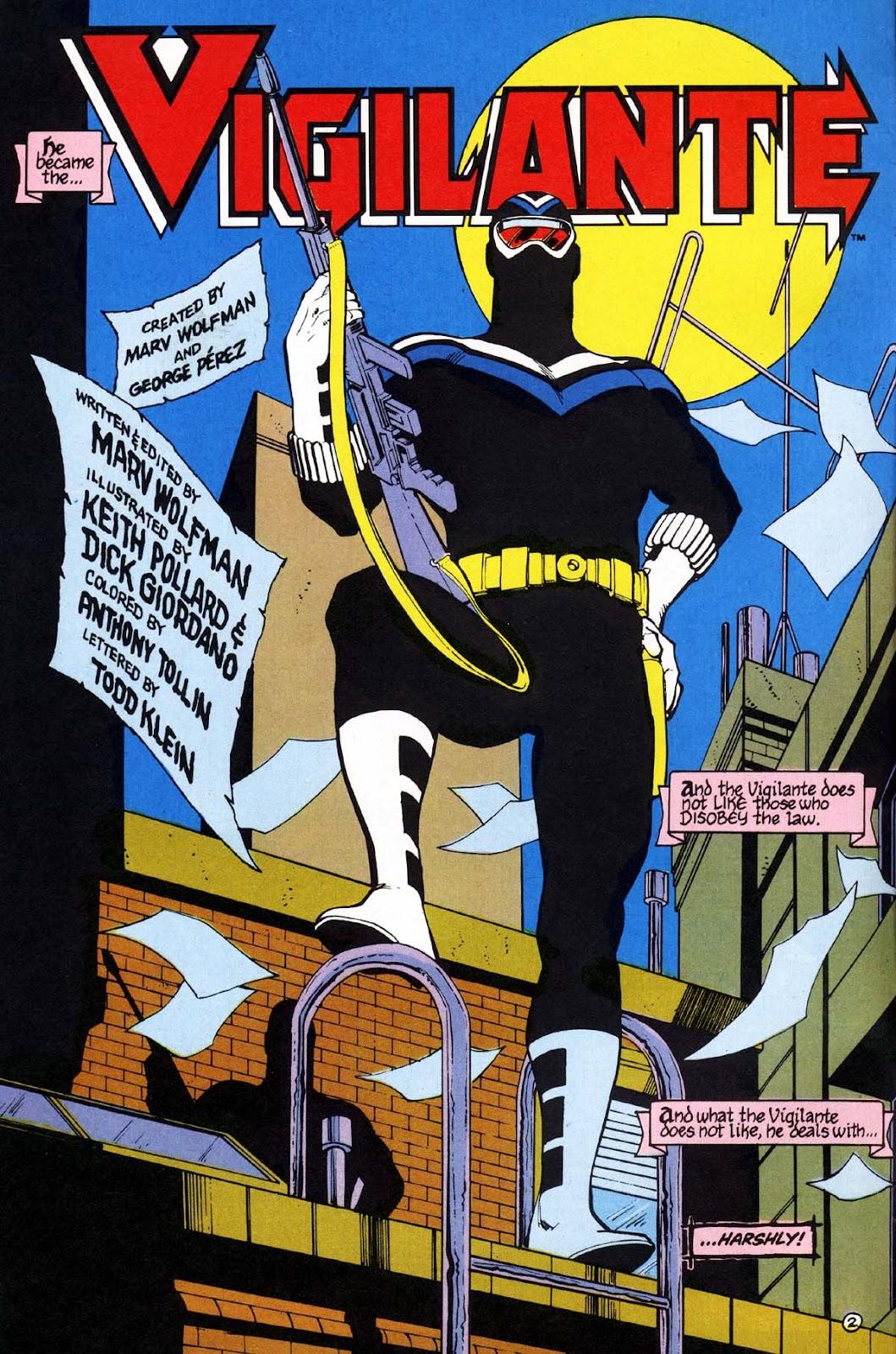 Vigilante (1983) issue 1 - Page 3