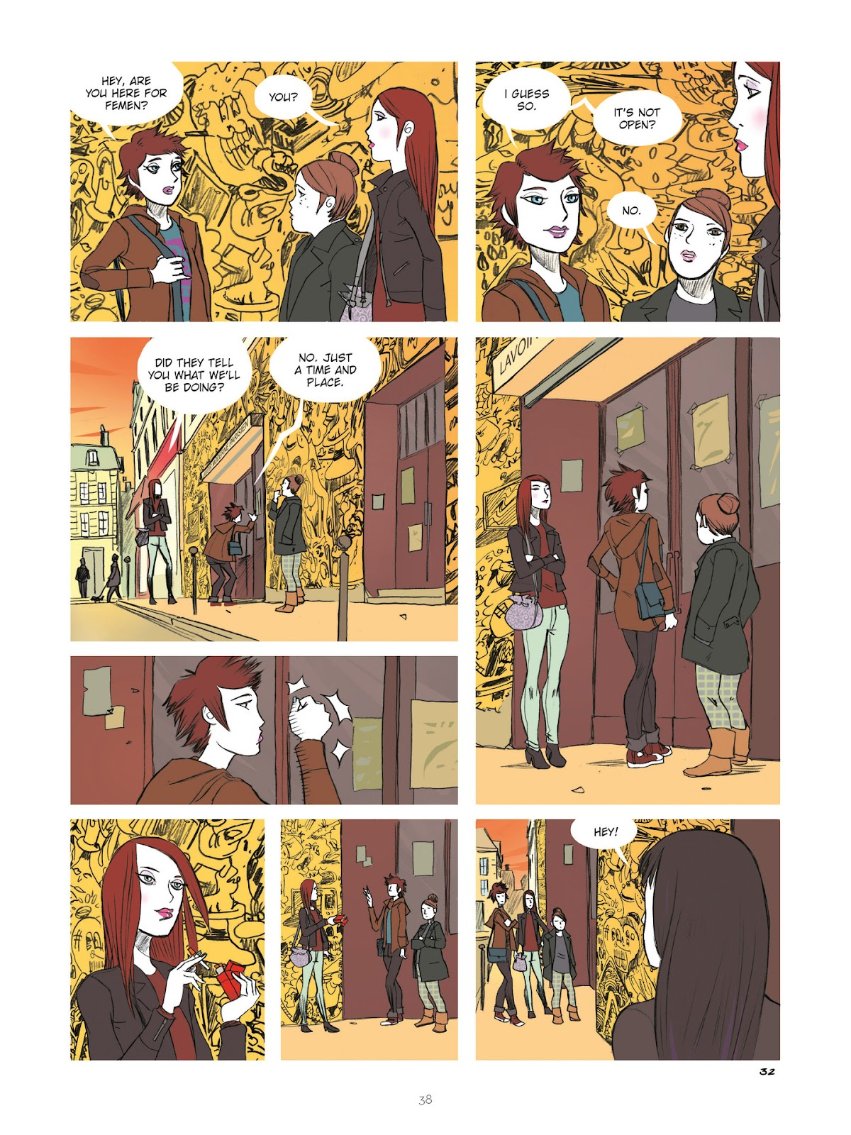 Read online Diary of A Femen comic -  Issue # TPB - 40