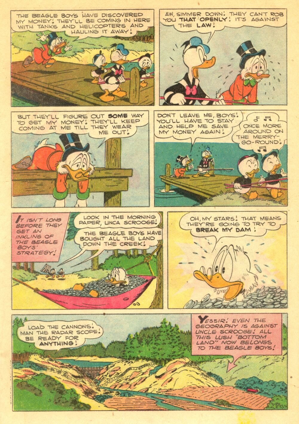 Read online Uncle Scrooge (1953) comic -  Issue #1 - 20