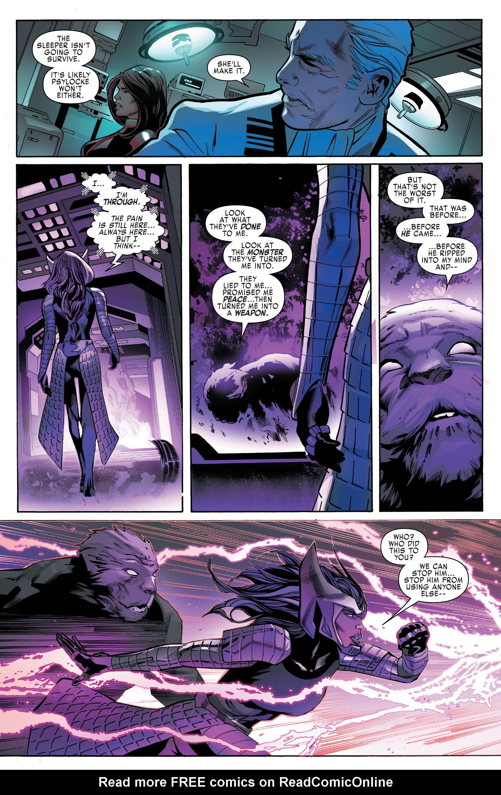 Read online Uncanny X-Men (2016) comic -  Issue #13 - 19