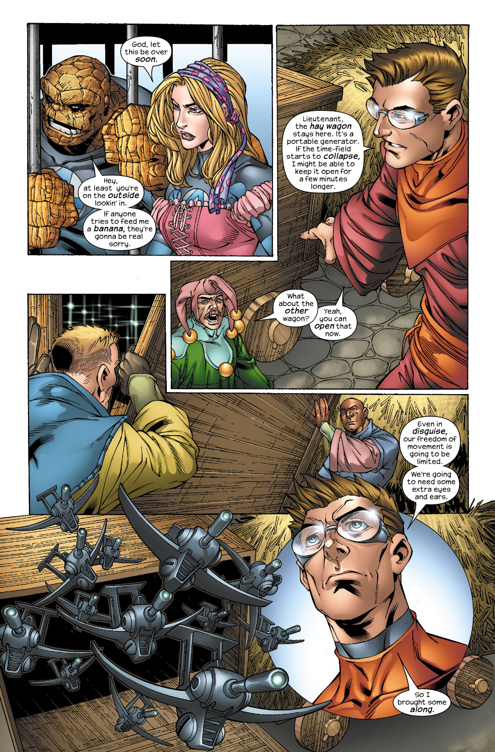 Read online Ultimate Fantastic Four (2004) comic -  Issue #40 - 9