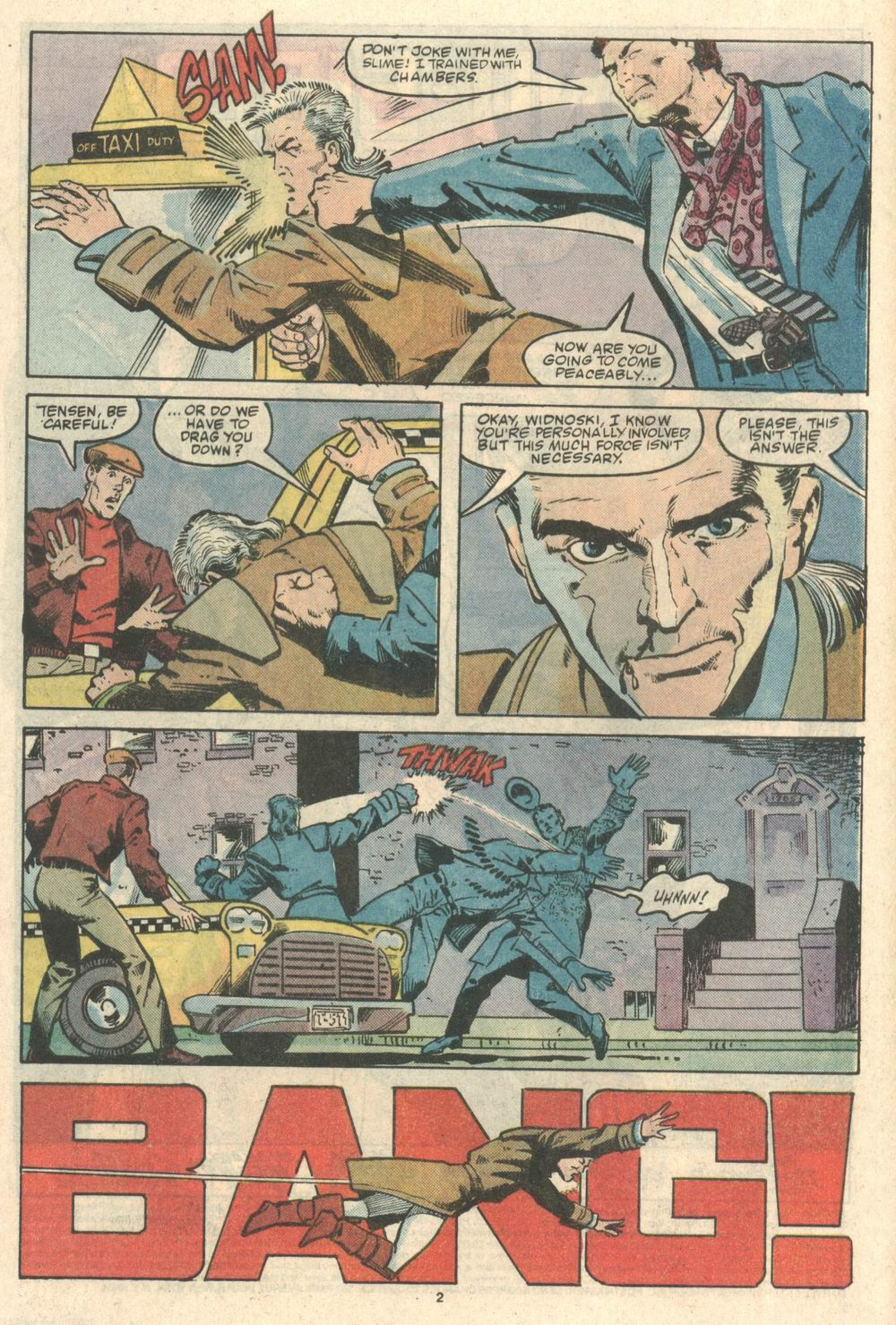 Read online Justice (1986) comic -  Issue #8 - 3
