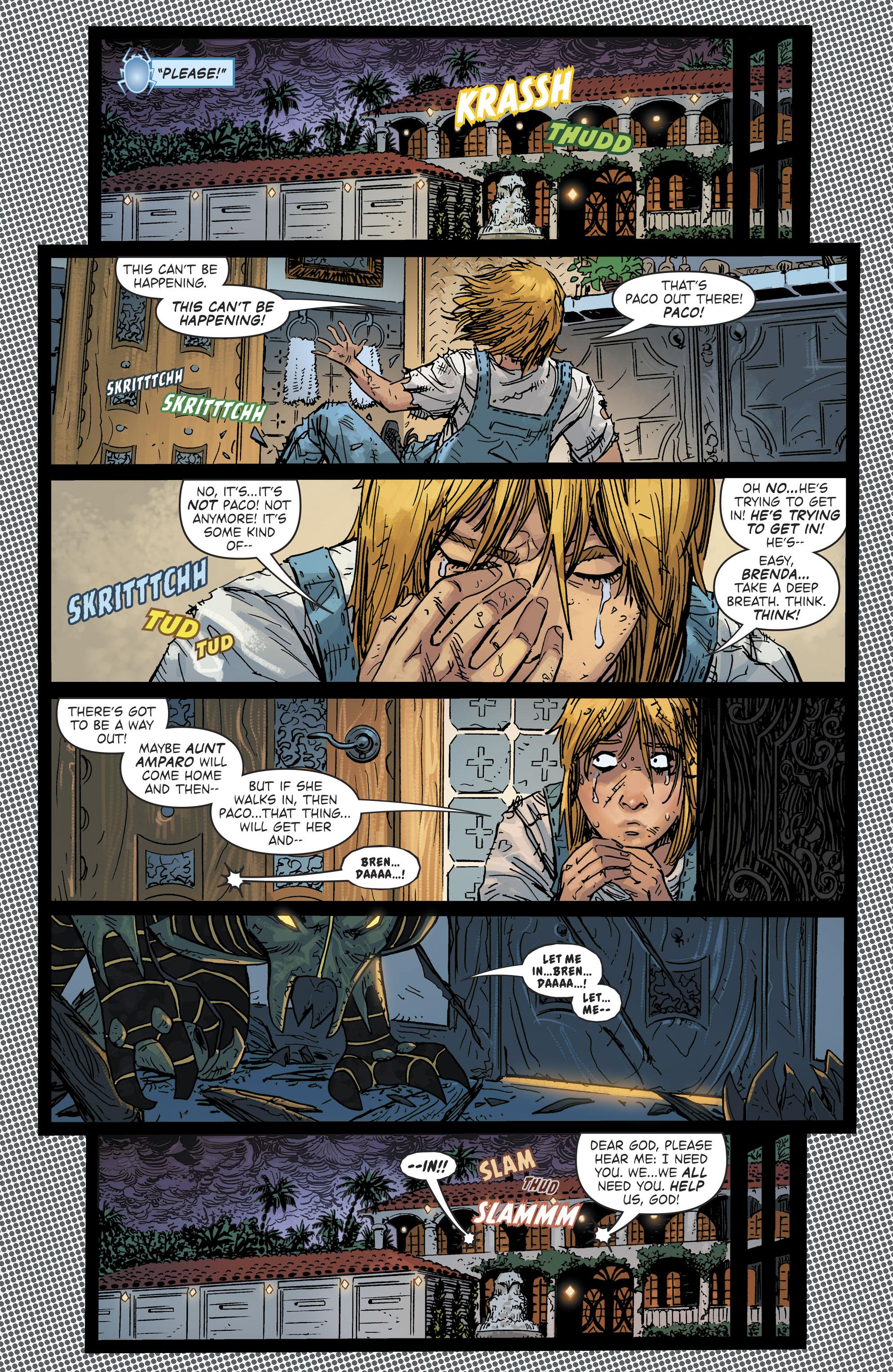 Read online Blue Beetle (2016) comic -  Issue #9 - 12