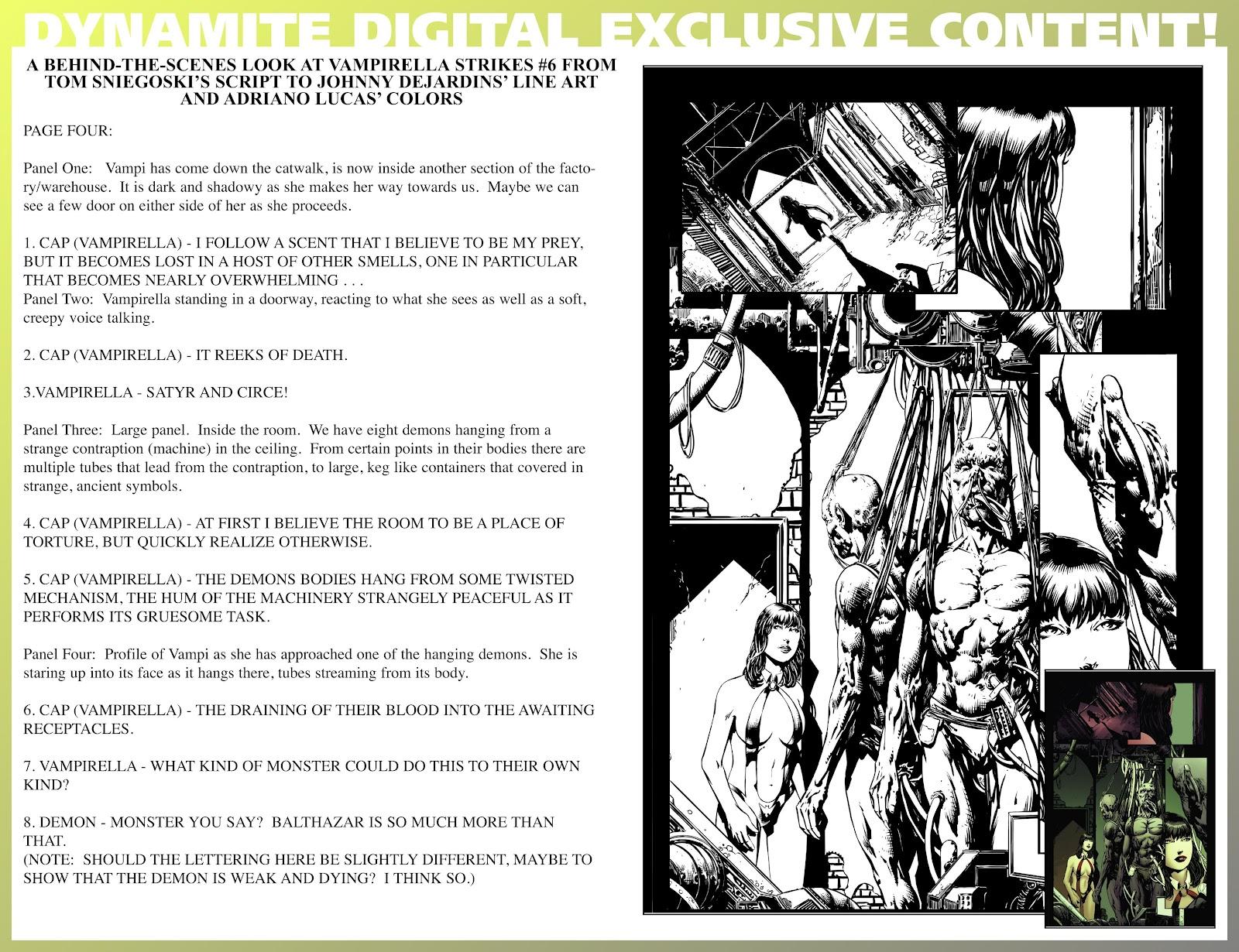 Read online Vampirella Strikes comic -  Issue #6 - 38